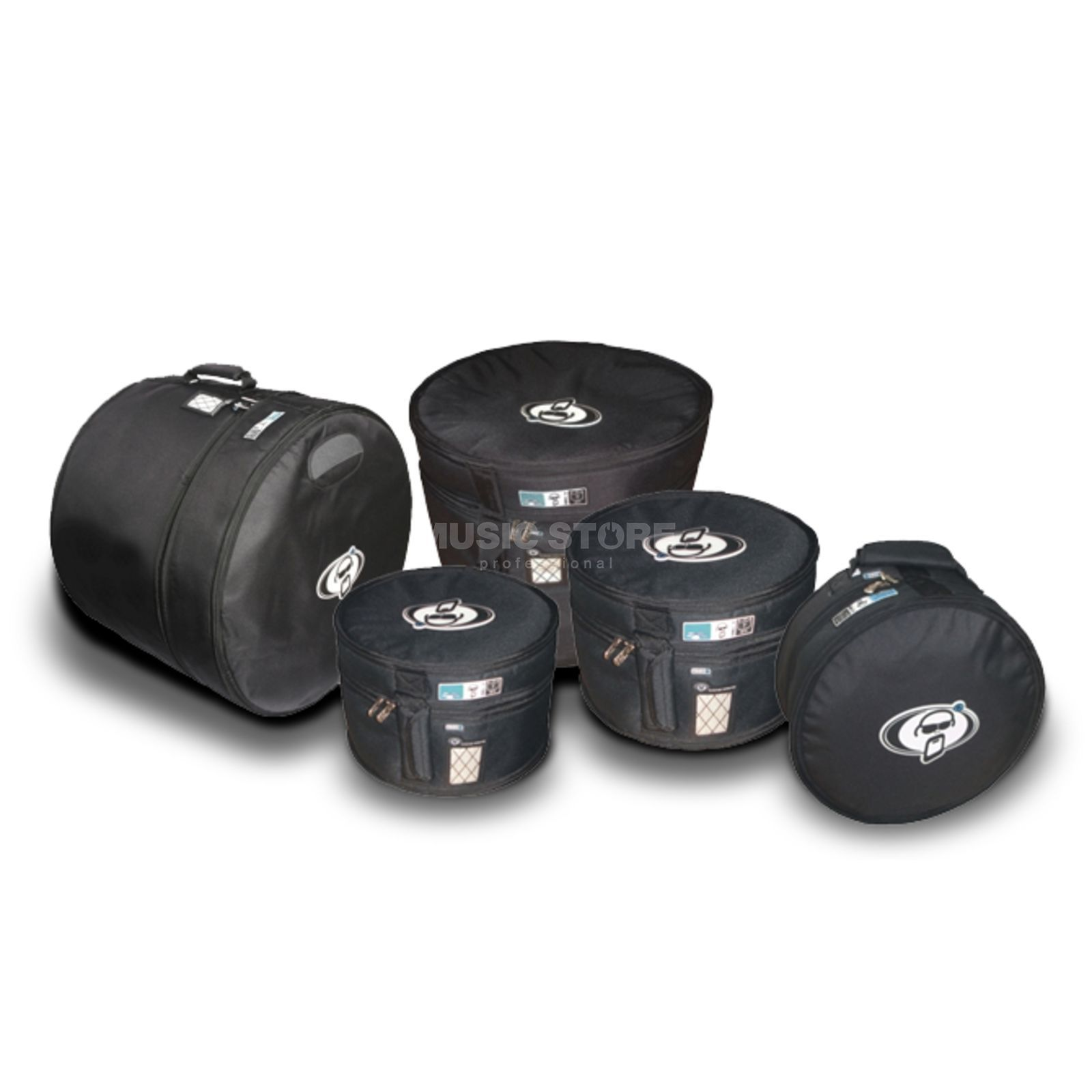 "Protection Racket BagSet SET 8, 22""x18"",12""x10"", 13""x11"", 16""x16"", 14""x6,5"" Produktbillede"