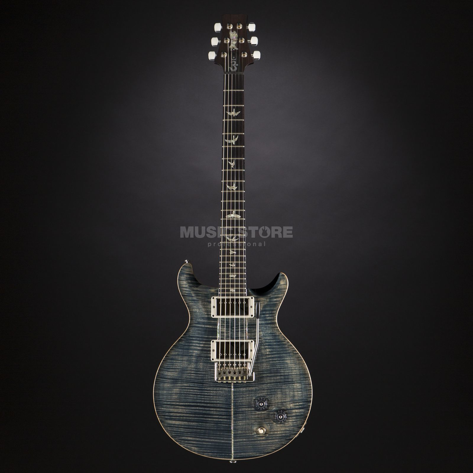 PRS Santana 10-Top Faded Whale Blue #15 222950 Produktbild