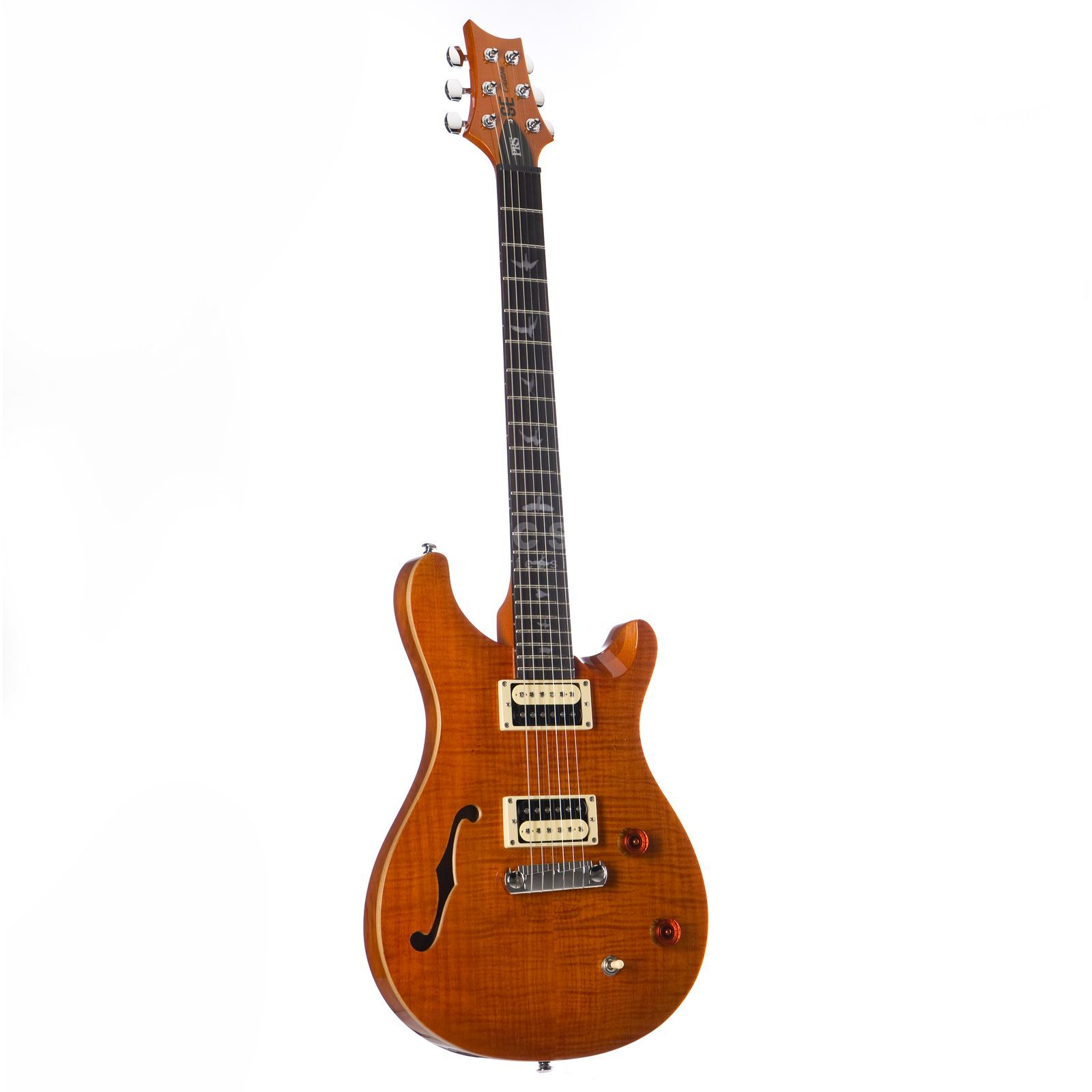 PRS SE Custom 22 Semi-Hollow Orange Produktbild