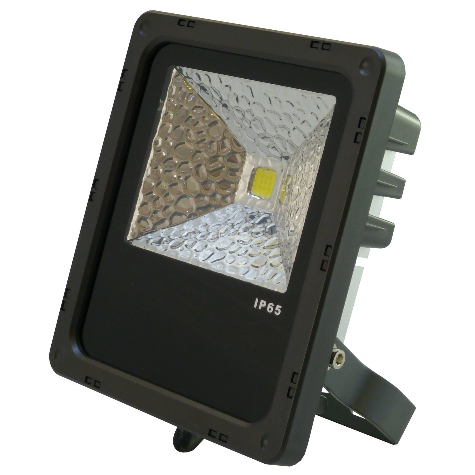 PTL LED Flood PRO 10W warm white IP 65, 10W COB LED, 120° Produktbillede