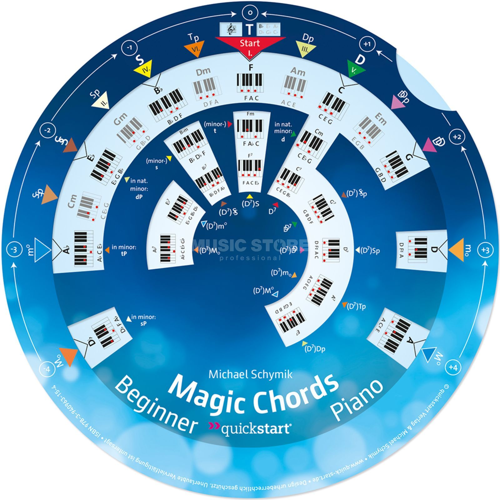 Quickstart Magic Chords Piano Michael Schymik Produktbillede