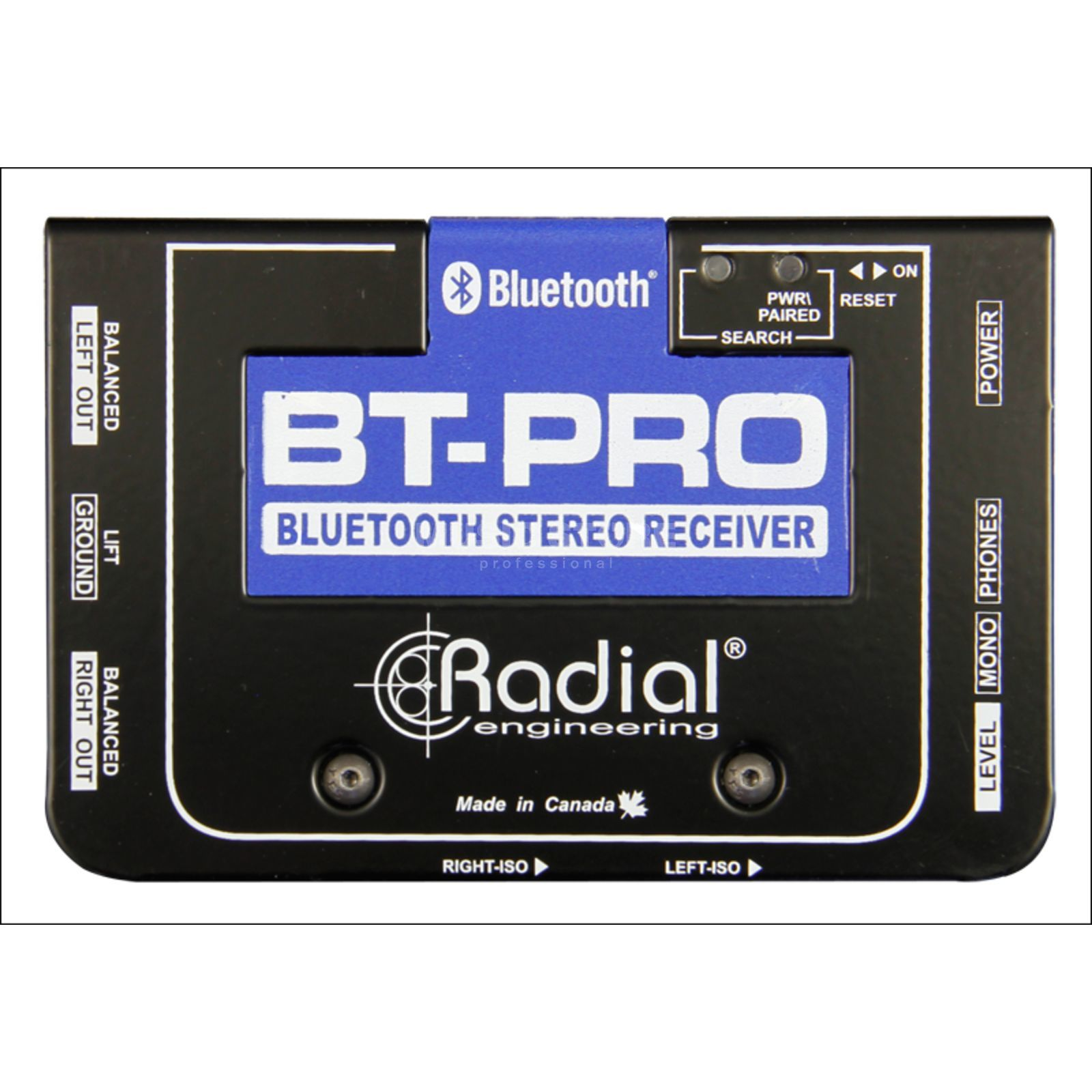 Radial BT-Pro Bluetooth Direct Box Produktbillede