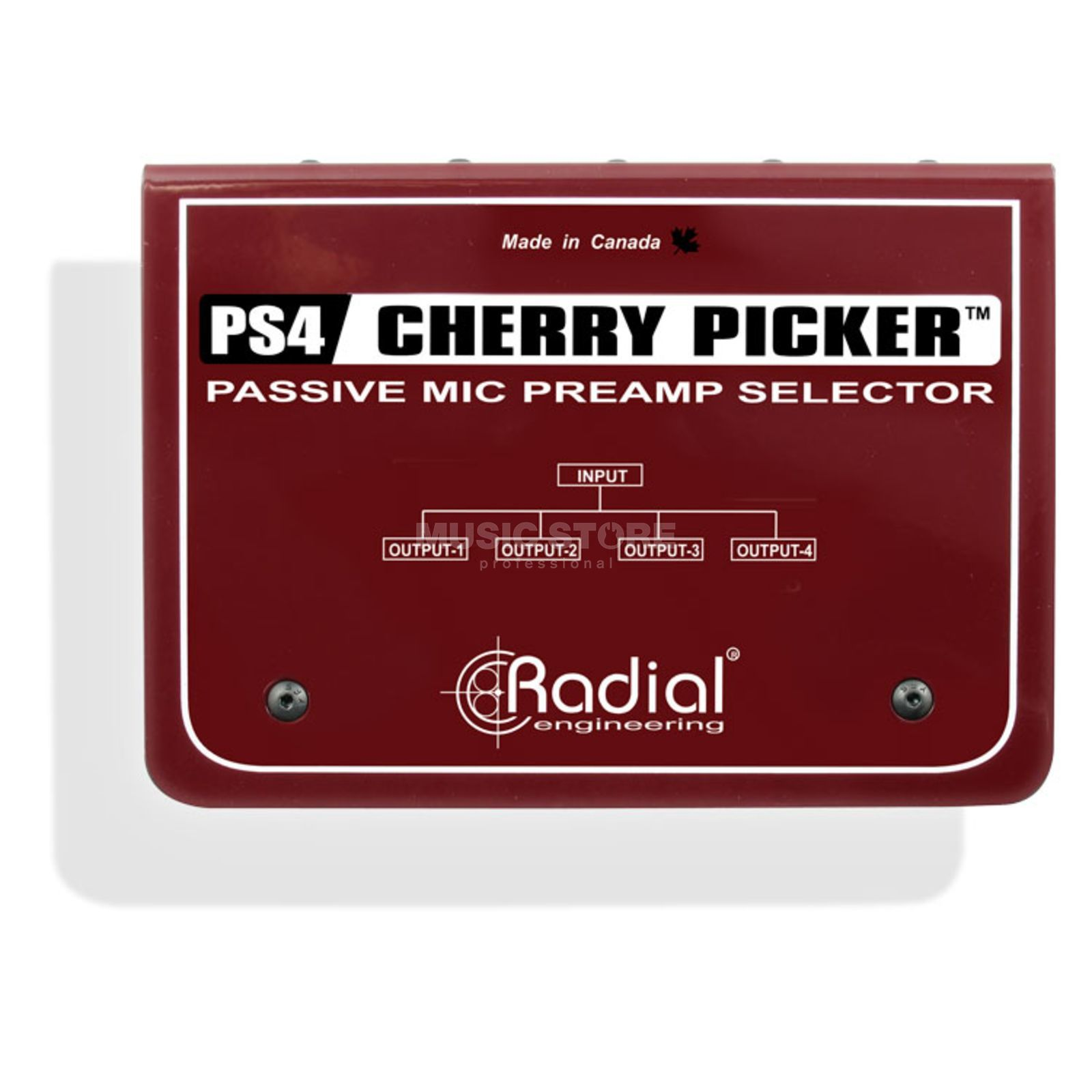 Radial CP3 Cherry Picker passive 4ch. MicPre Selector Produktbillede