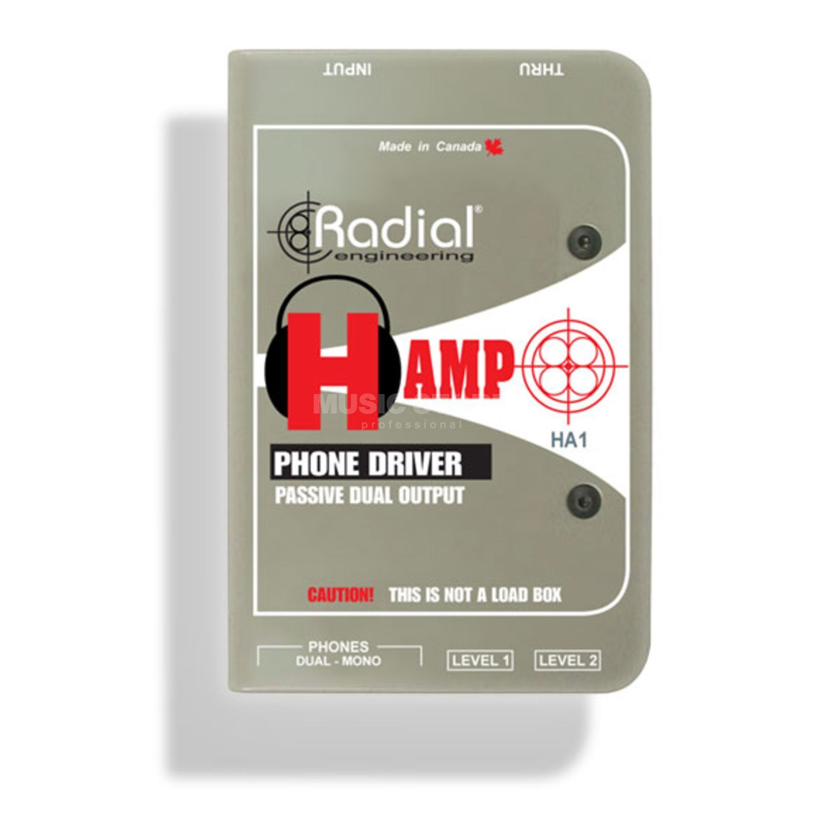 Radial H-Amp passive Headphone/Amp Interface Produktbillede