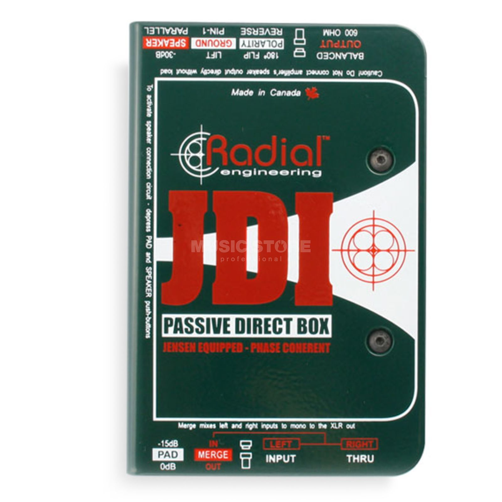 Radial JDI Passive Direct Box    Produktbillede