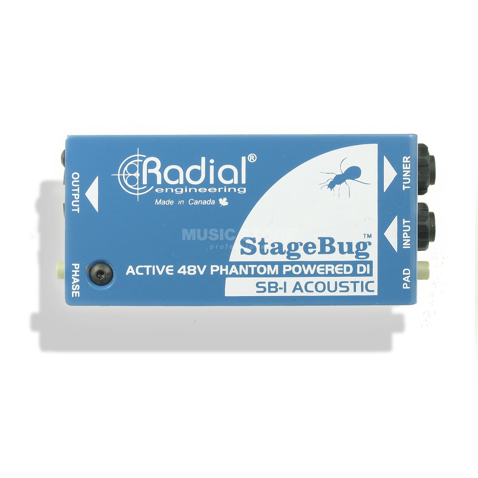Radial StageBug SB-1 Acoustic aktive DI Box Produktbild