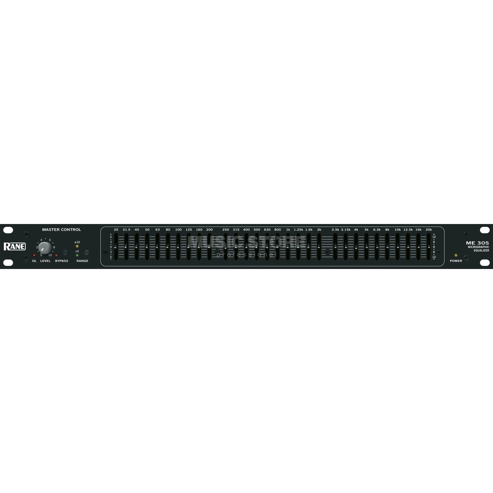 Rane ME-30S Equalizer 30-Band Mono, 20 mm Fader Product Image