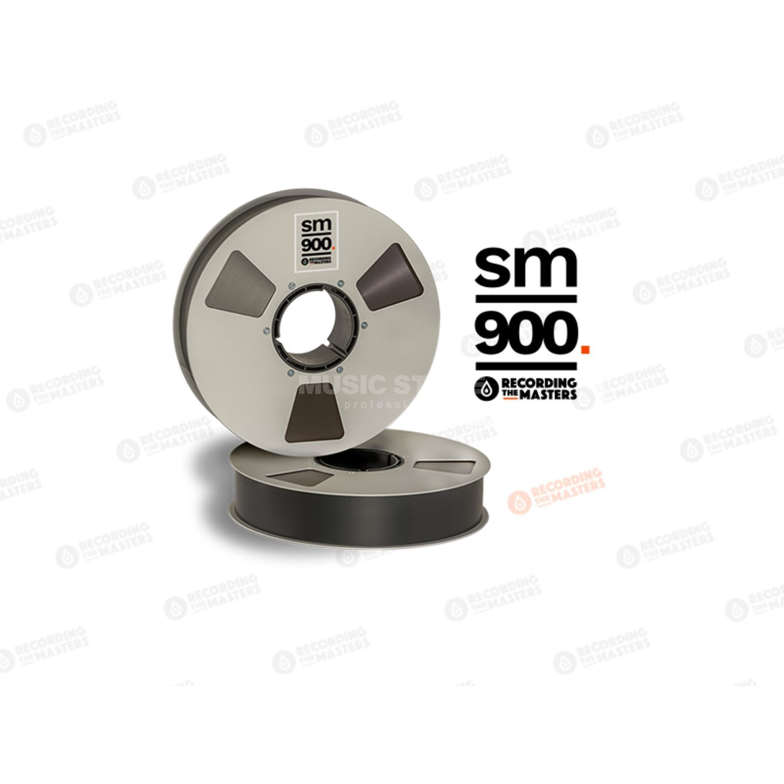 "Recording The Masters SM900 2"" 762m Analog Band NAB-Spule /Metal Reel 27cm Immagine prodotto"