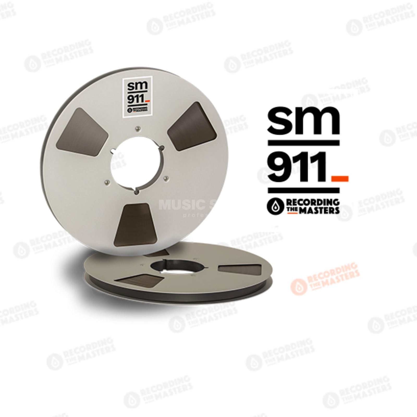 "Recording The Masters SM911 1/2"" 762m Analog Band NAB-Core /Metal Reel 27cm Produktbillede"