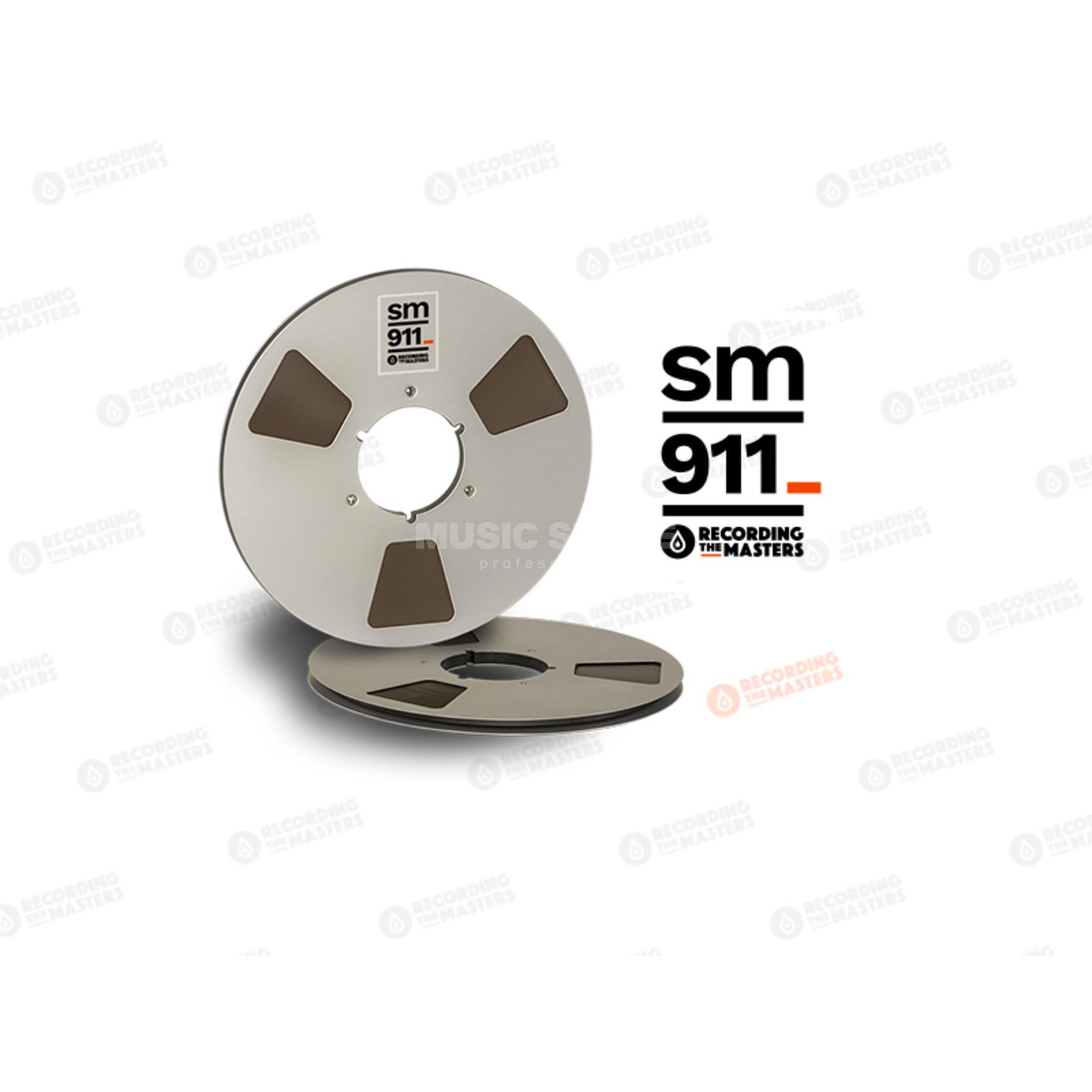 "Recording The Masters SM911 1/4"" 762m Analog Band NAB-Core /Metal Reel 27cm Product Image"