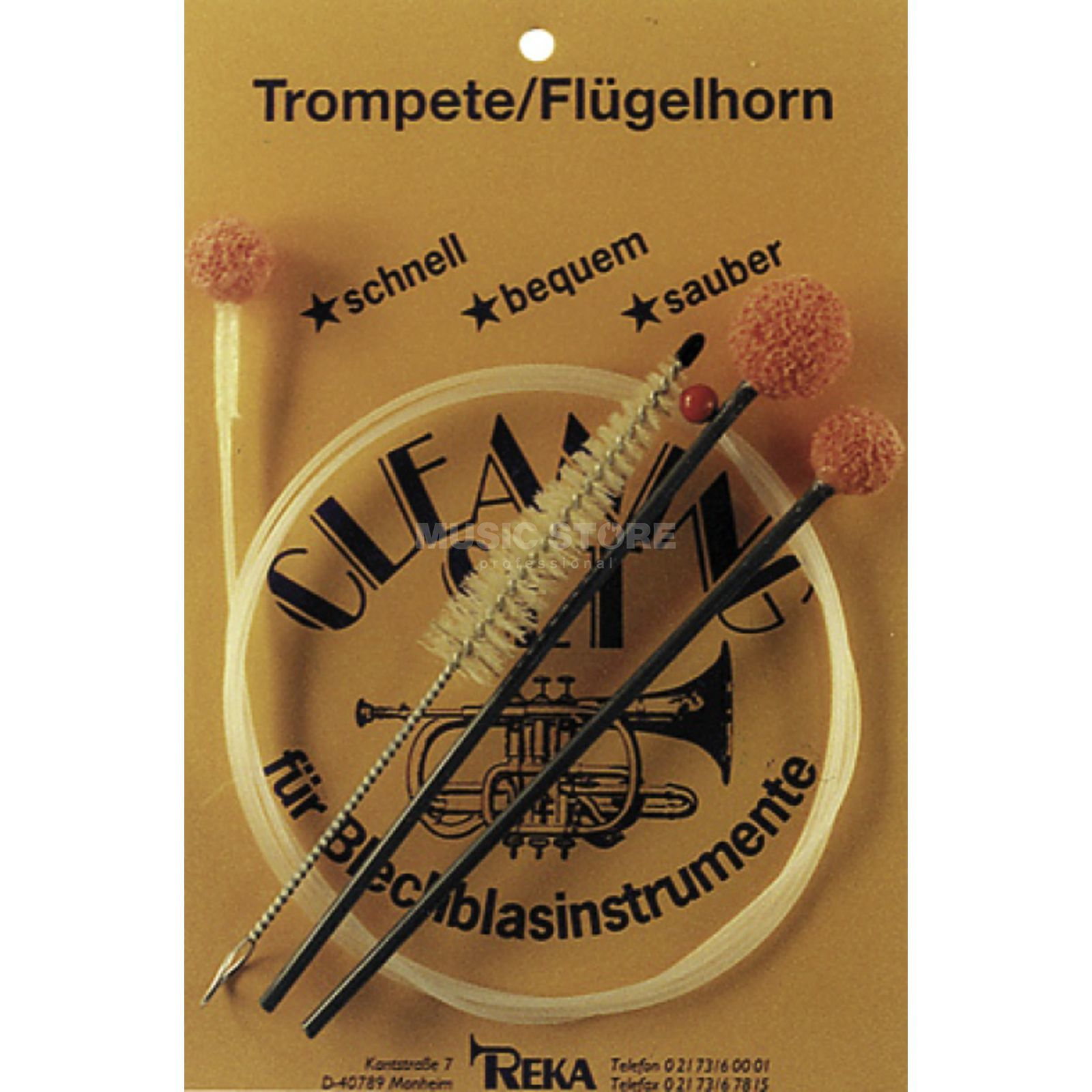 REKA Cleaning Set for Trumpet/Flugelhorn Image du produit