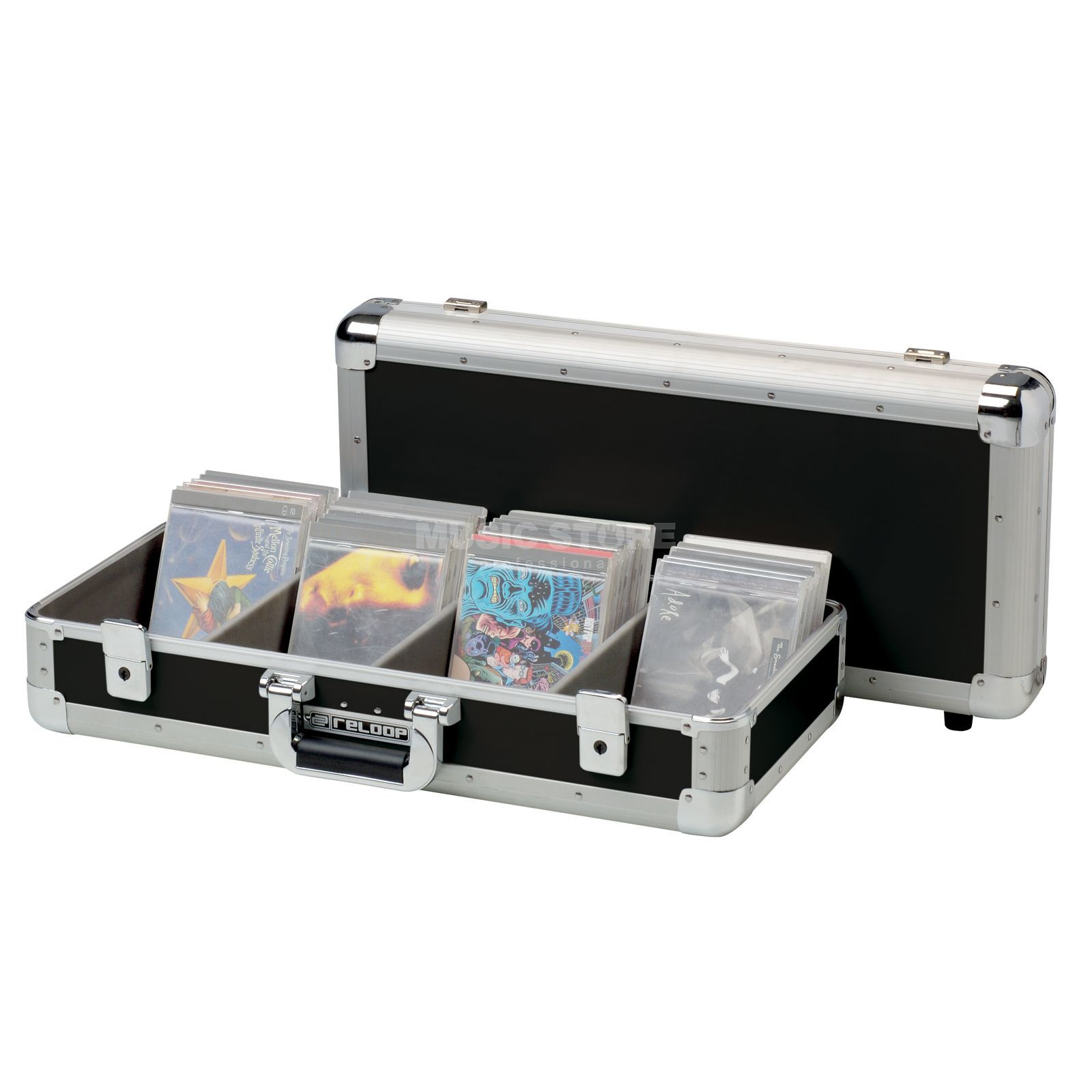 Reloop Club Series 100er CD Case zwart Productafbeelding