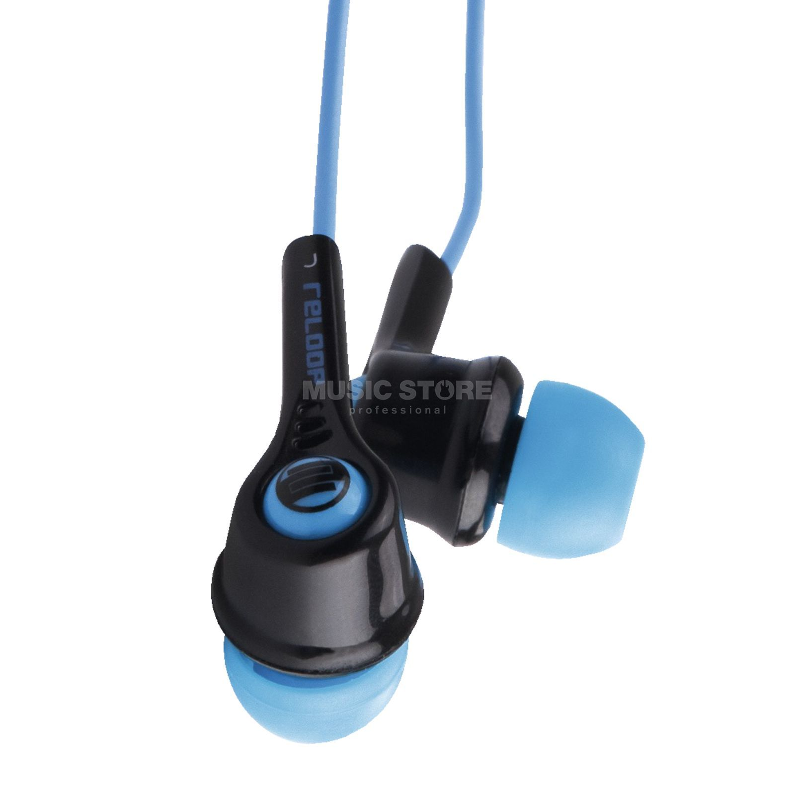 Reloop INP-2 Flash Black In Ear Kopfhörer Produktbild