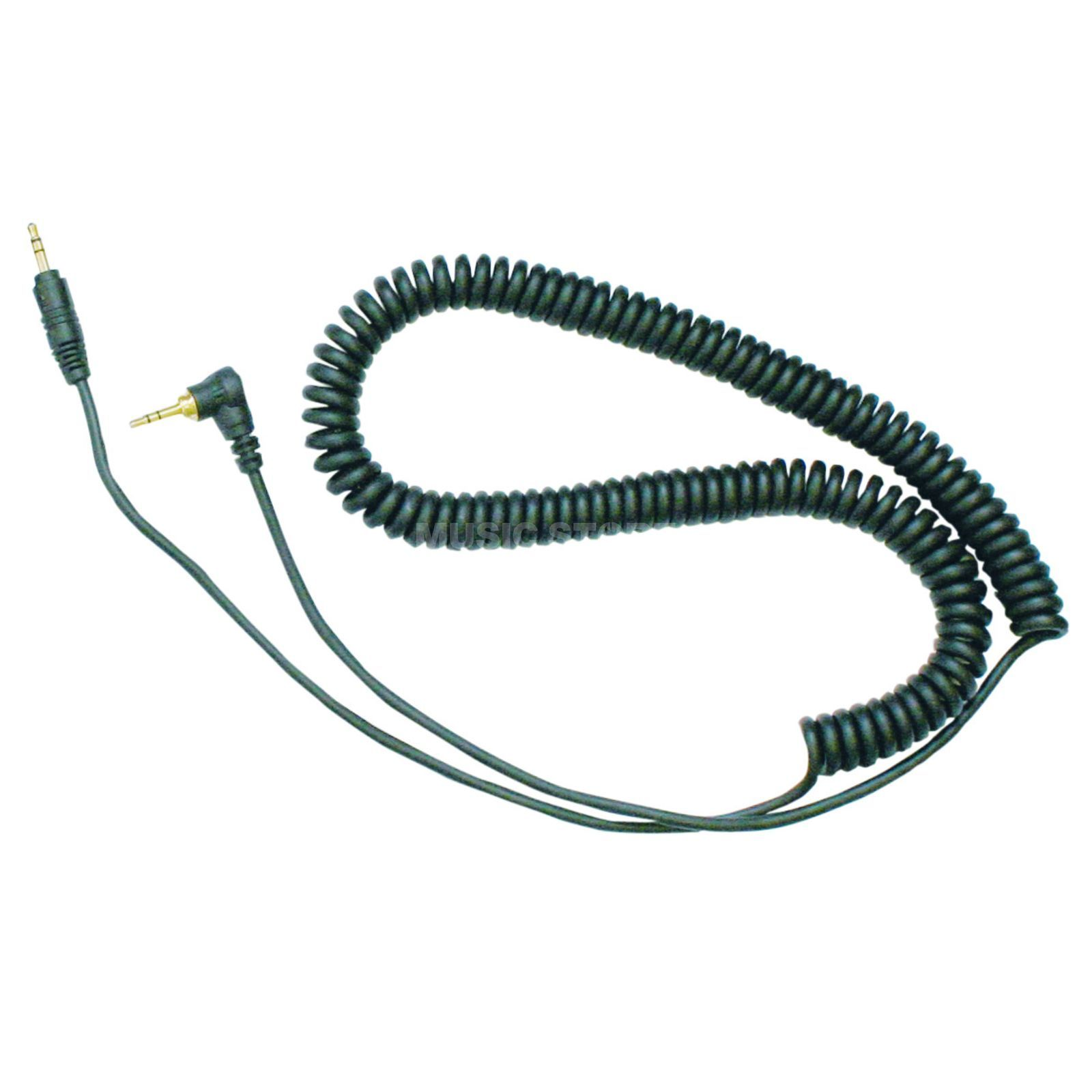 Reloop Replacement Cable for RHP-10/RH-3500 Spiral black Produktbillede