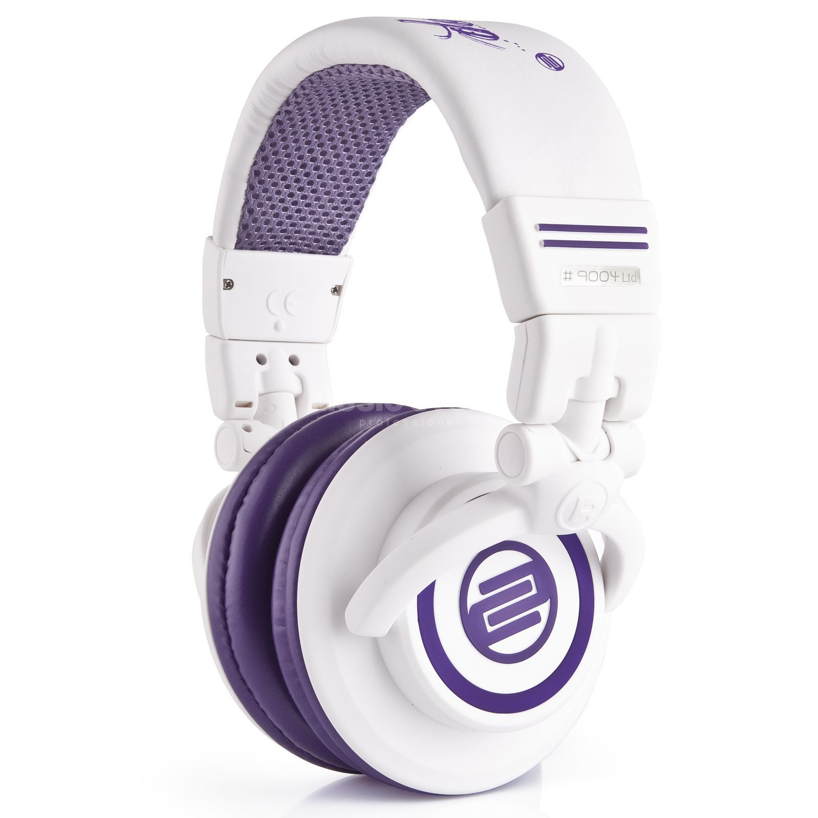 Reloop RHP-10 DJ Headphones Purple Milk Produktbillede