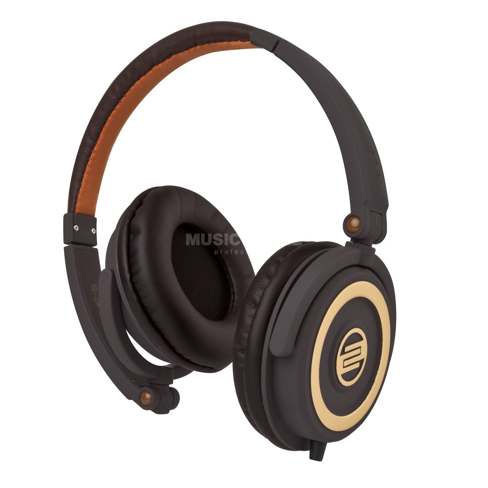 Reloop RHP-5 DJ Headphones Chocolate Brown Produktbillede