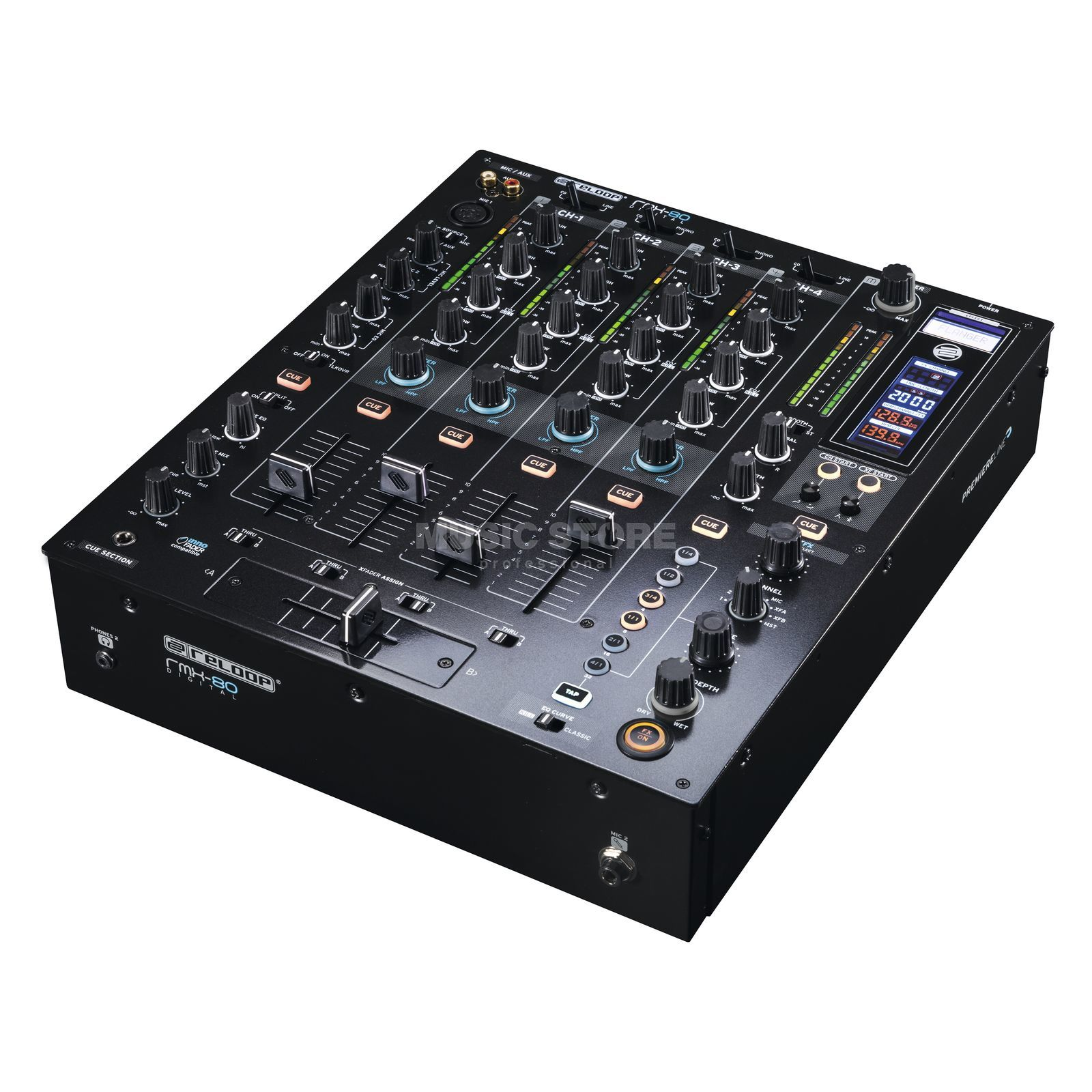 Reloop RMX-80 Digital Advanced Club Mixer Produktbild