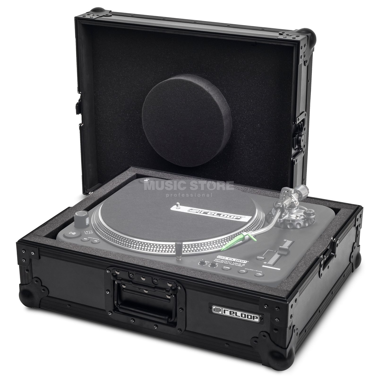 Reloop Turntable Case Black  Produktbild