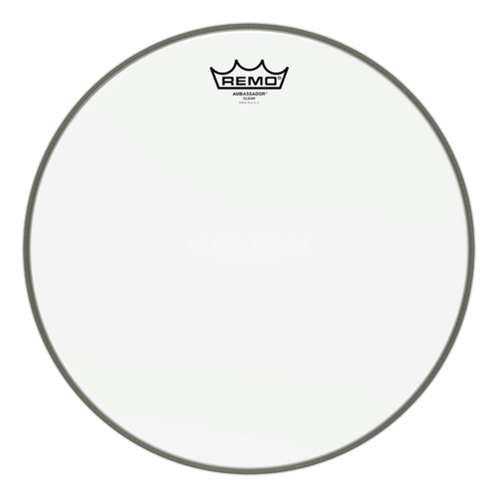"Remo Ambassador Clear 20"", BassDrum Batter/Reso Product Image"