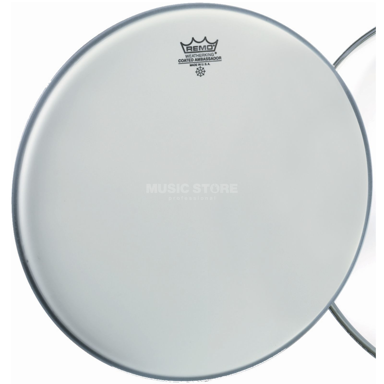 "Remo Ambassador Coated 8"", Tom Batter/Reso Product Image"