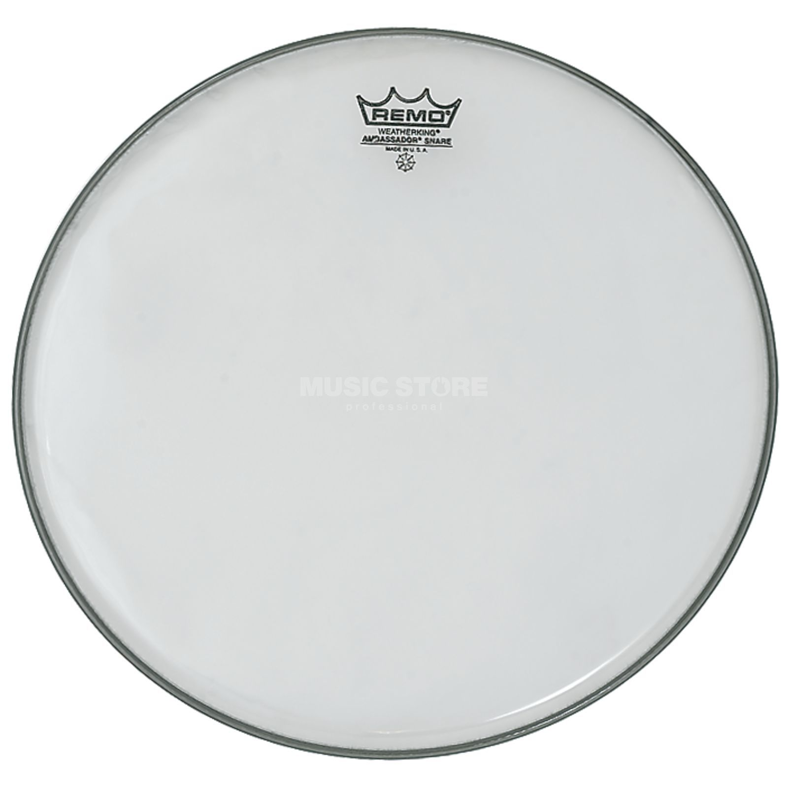"Remo Ambassador Hazy 14"", clear, Snare Reso Product Image"