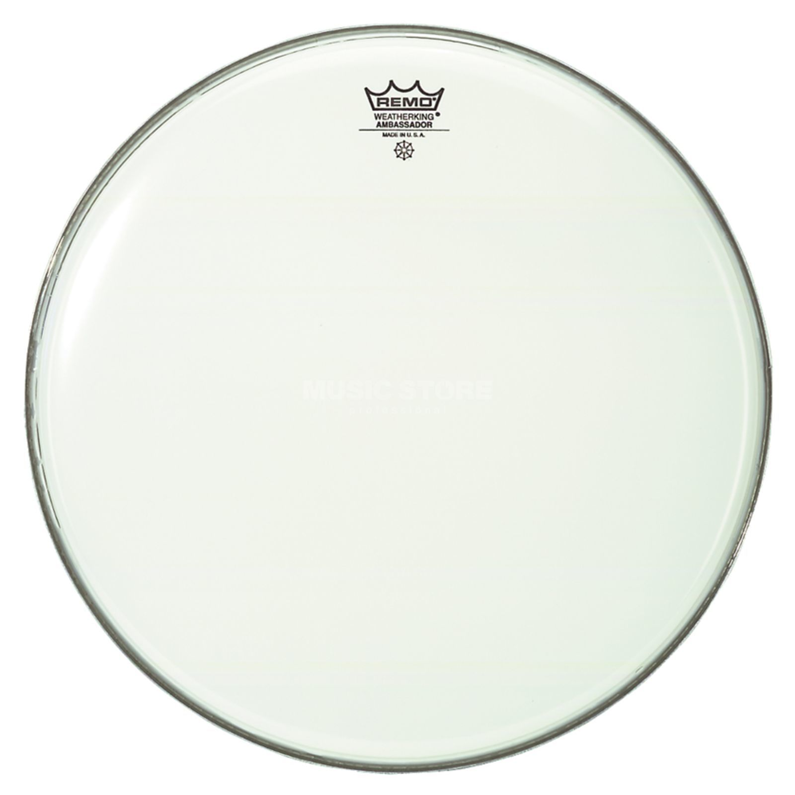 "Remo Ambassador Smooth White 8"", Tom Batter Produktbillede"