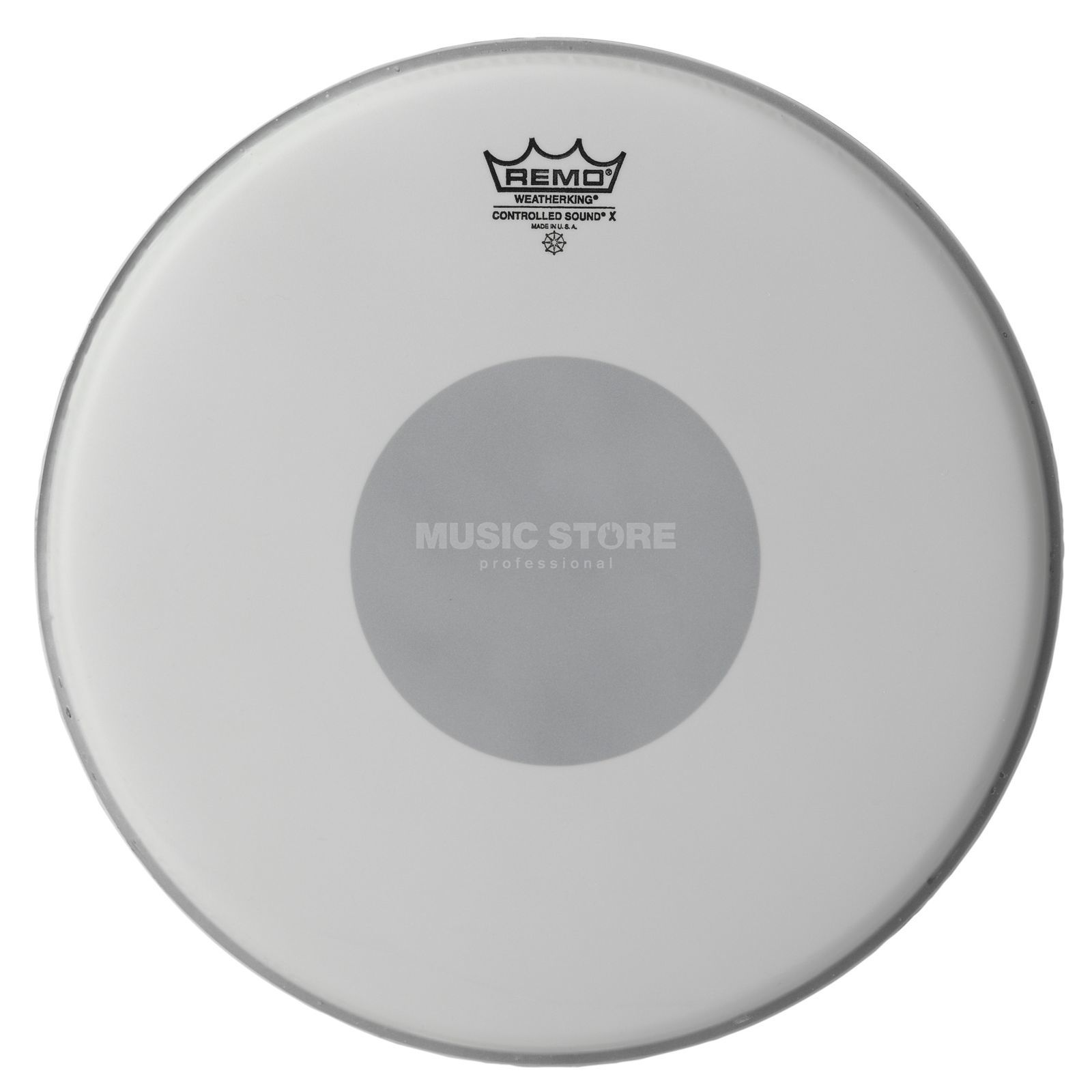 "Remo Controlled Sound X 14"", Black Dot, SnareDrum Batter Product Image"