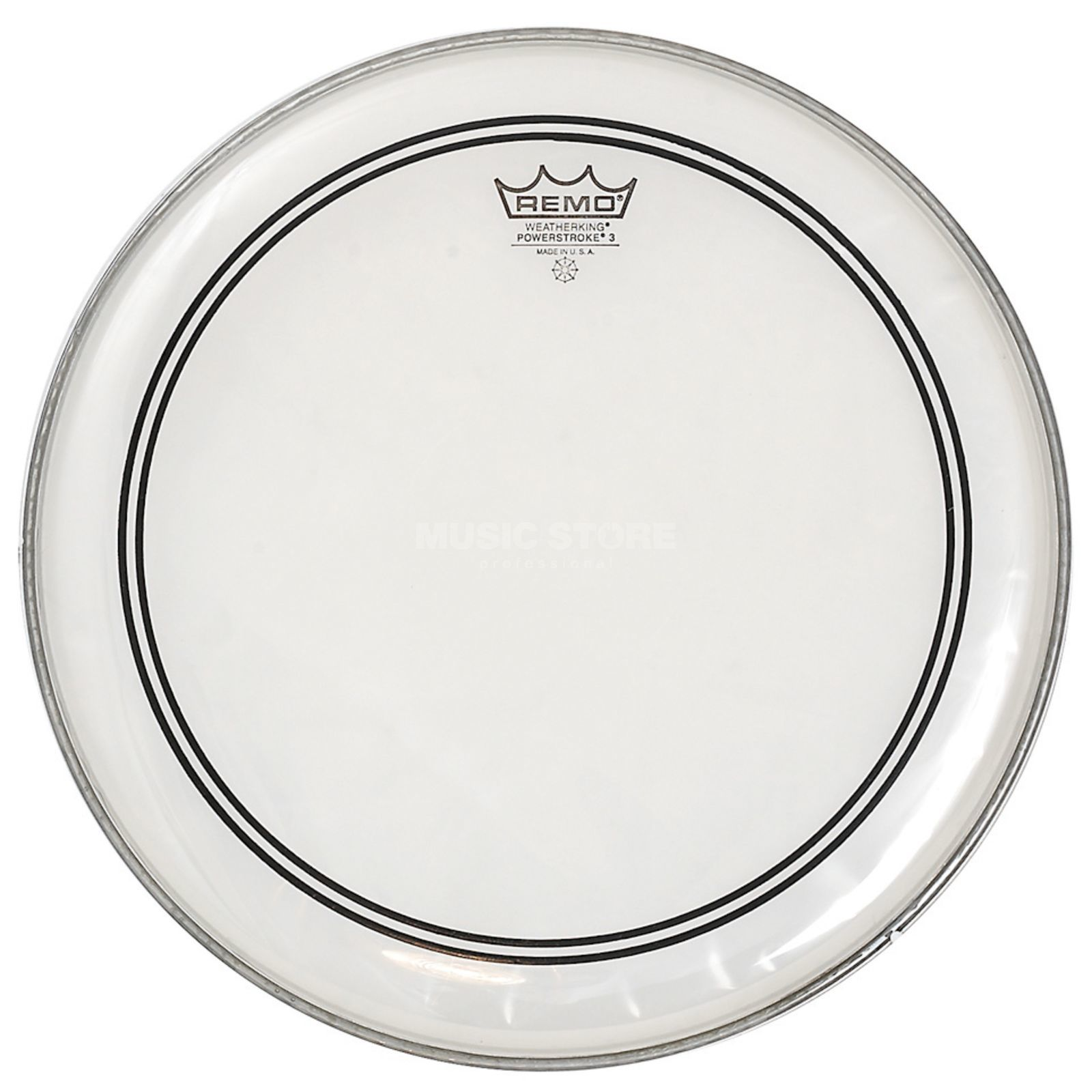 "Remo CS Powerstroke 3 Clear 14"", Dot, Tom Batter/Reso Product Image"