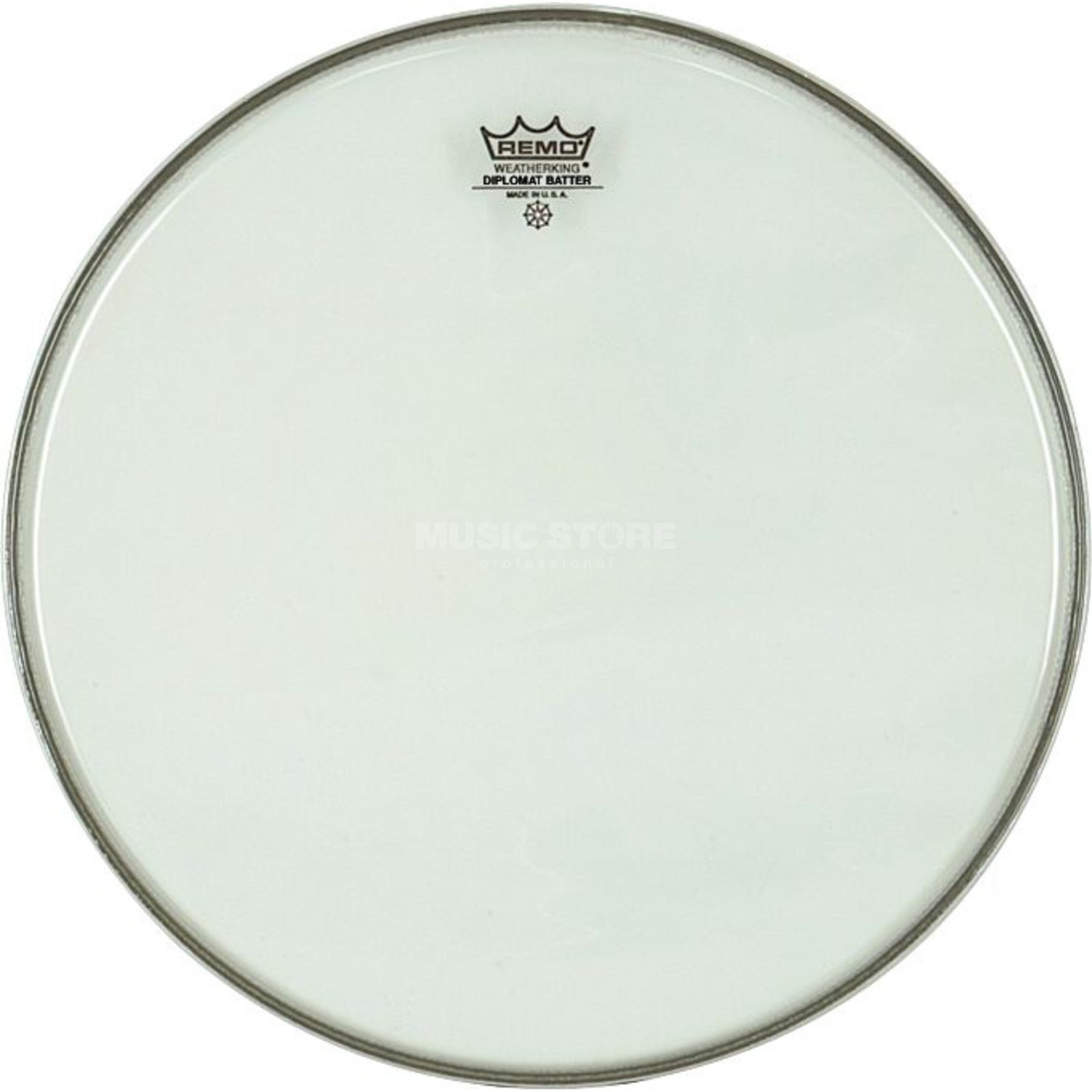 "Remo Diplomat Clear 13"", Tom Batter/Reso Product Image"
