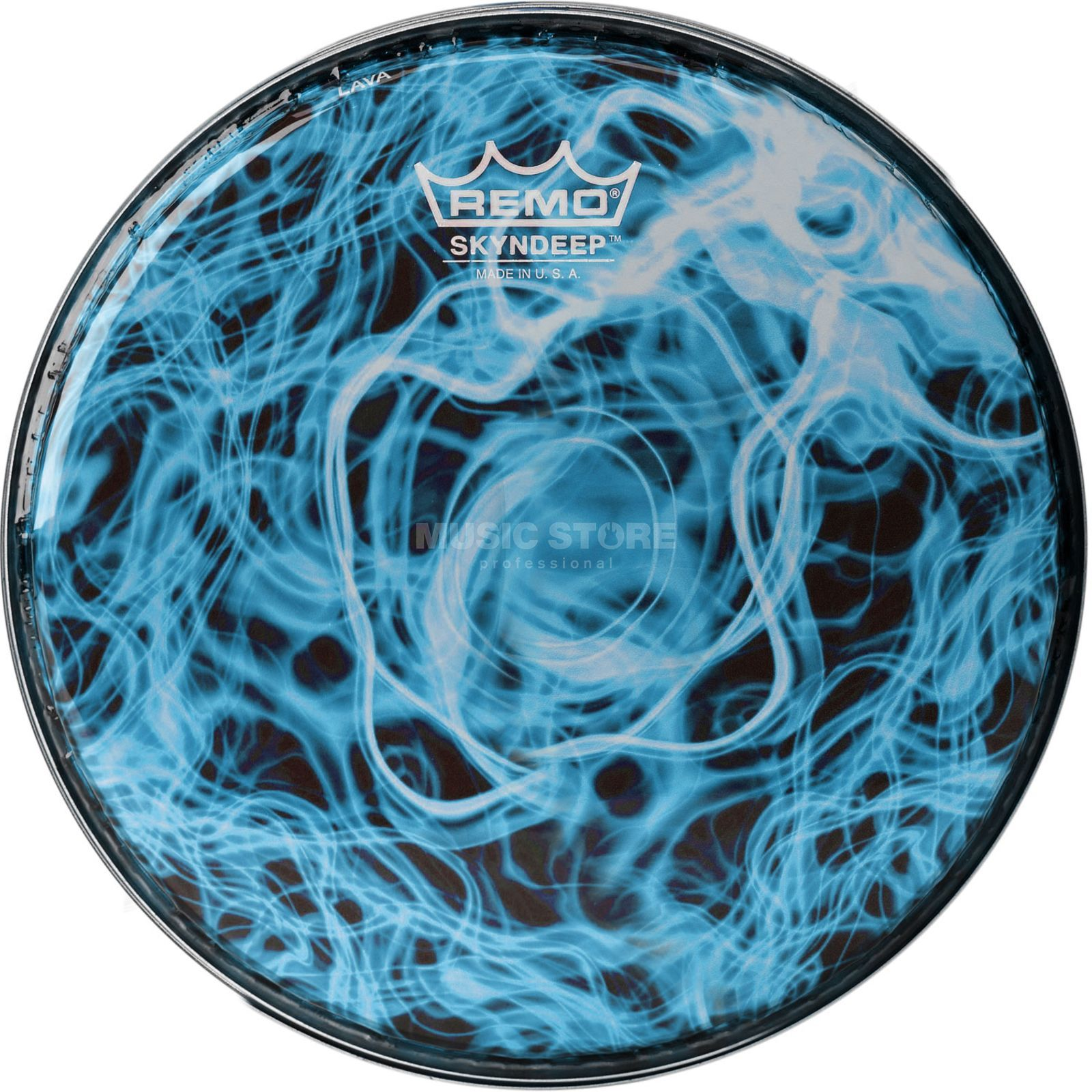 "Remo DoumbekFell BD-0010-00-SC018, 10"", Turquoise Mist Graphic Produktbillede"