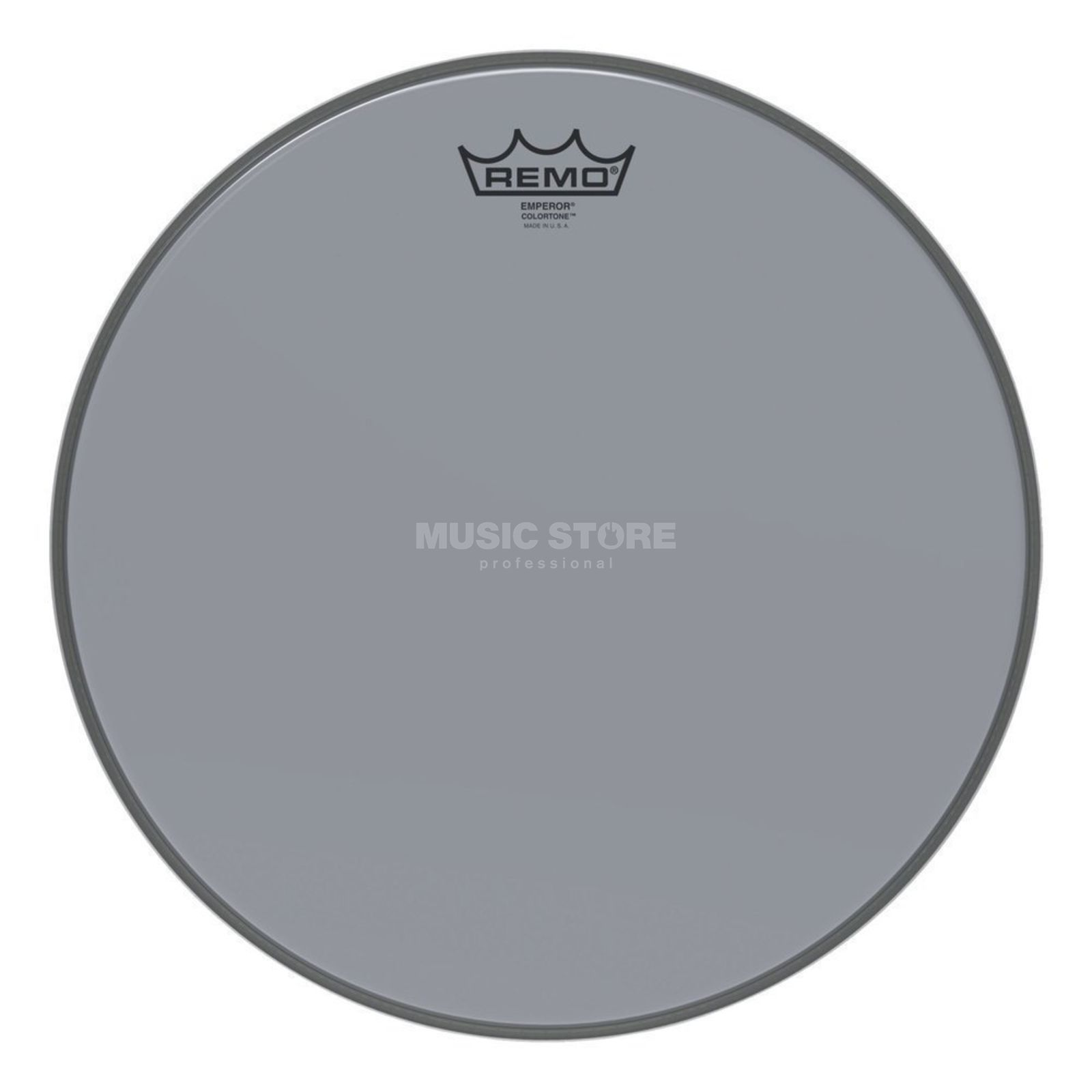 "Remo Emperor Colortone Clear 14"" Smoke Product Image"
