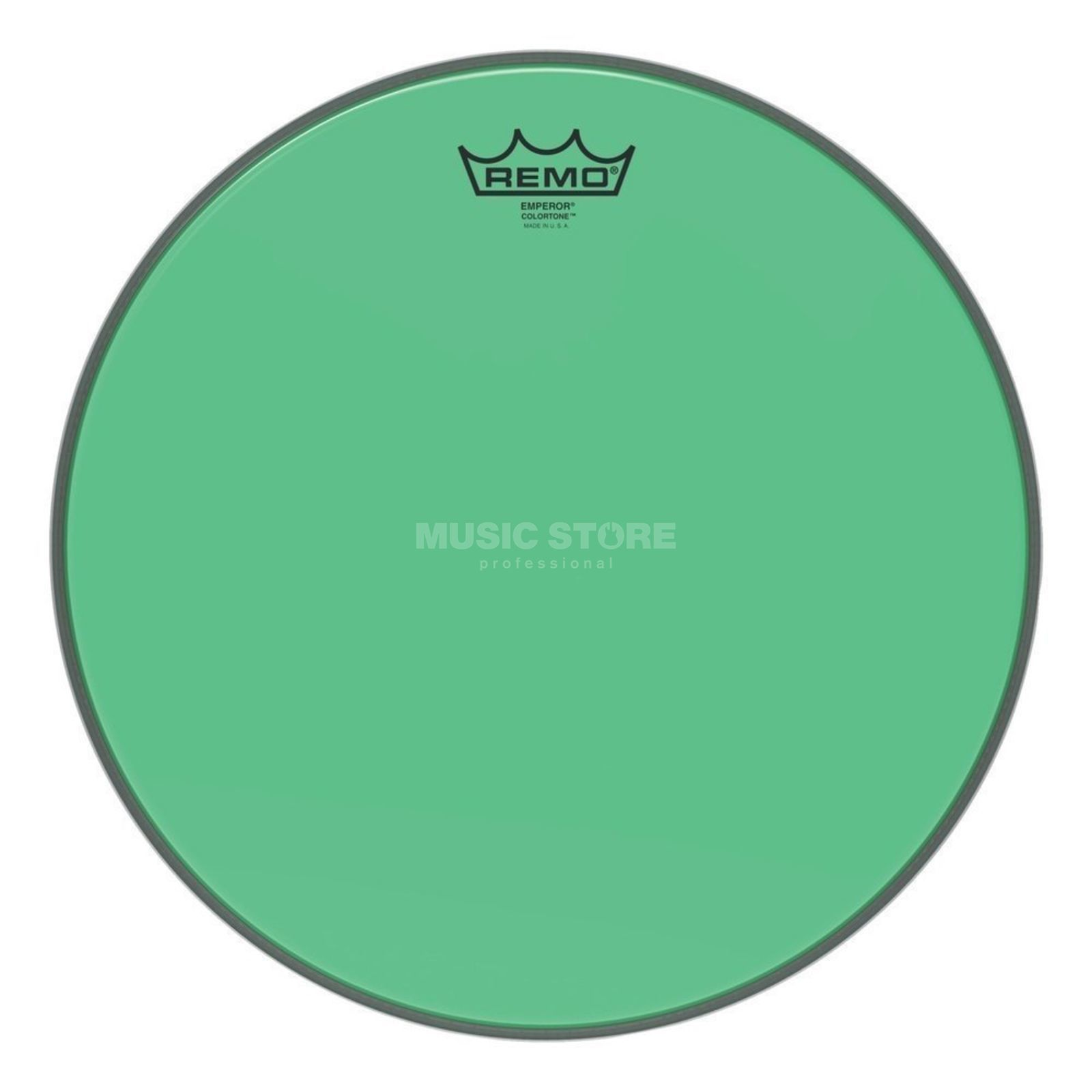 "Remo Emperor Colortone Green 8"" Product Image"