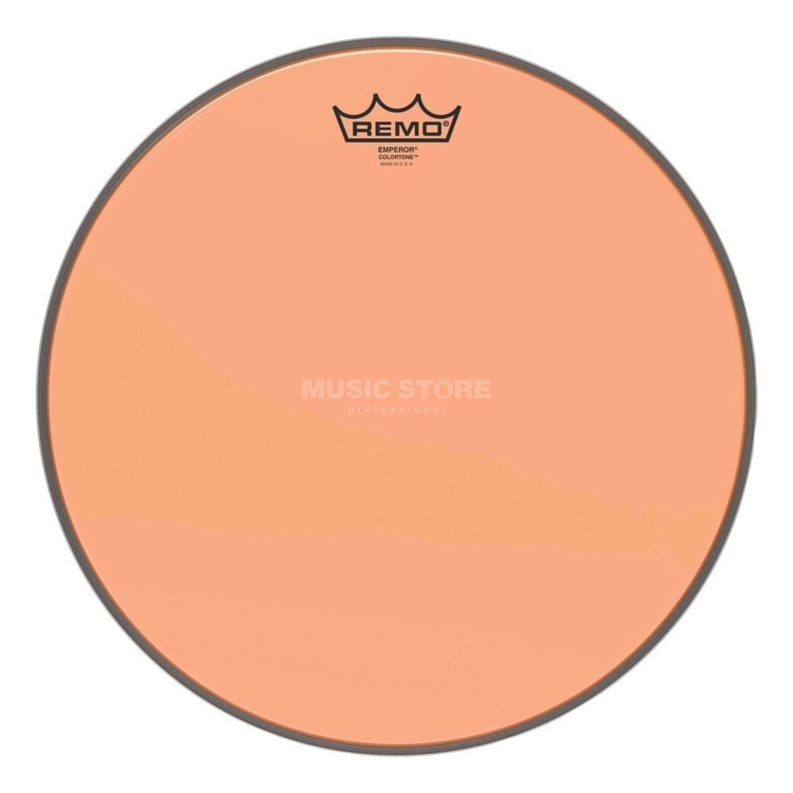 "Remo Emperor Colortone Orange 14"" Product Image"