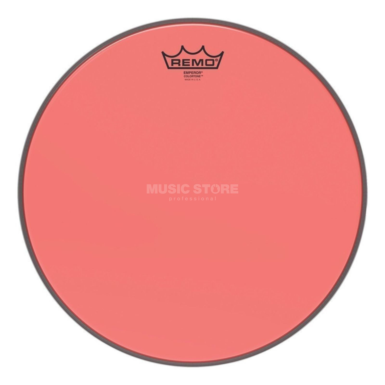 "Remo Emperor Colortone Red 13"" Product Image"