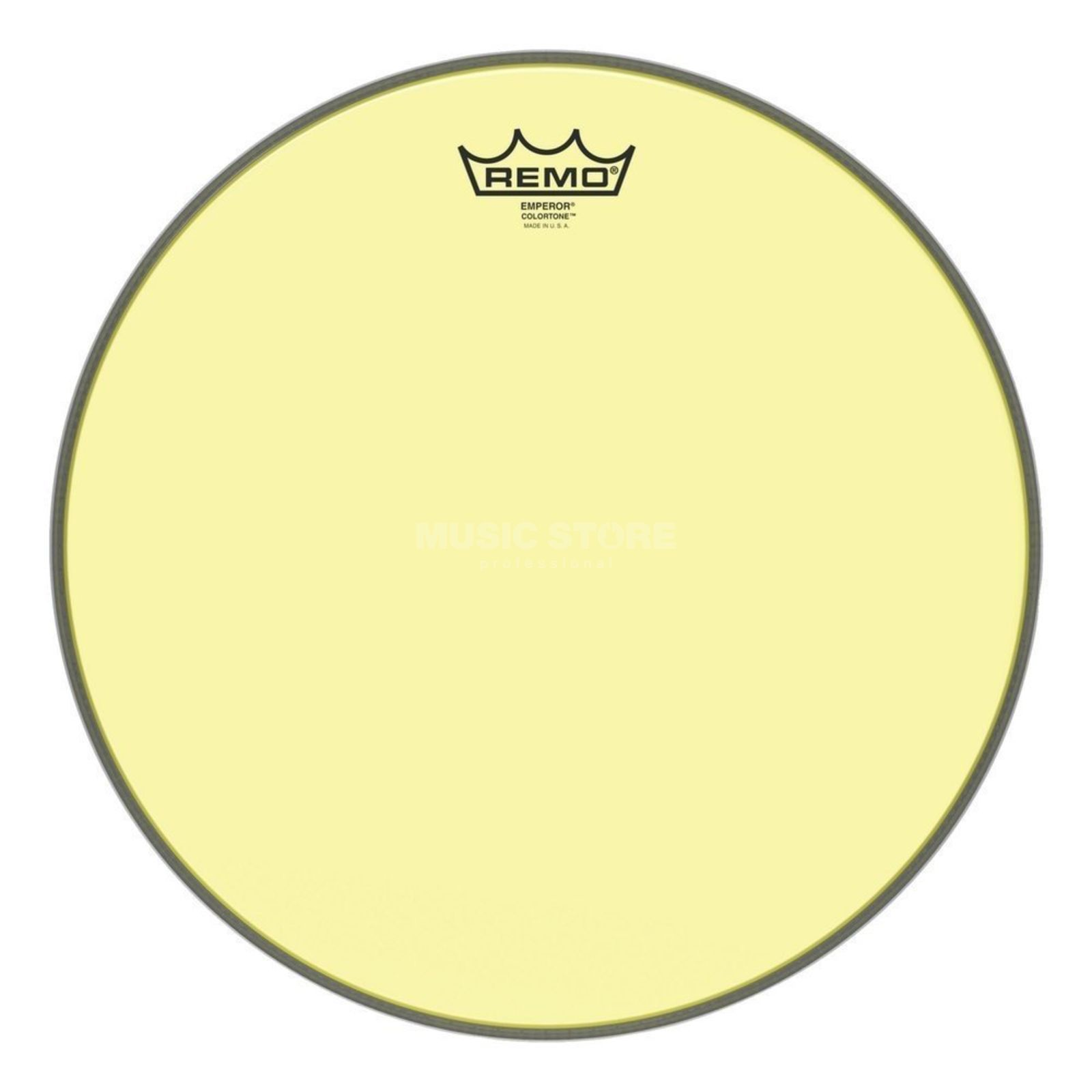"Remo Emperor Colortone Yellow 10"" Product Image"