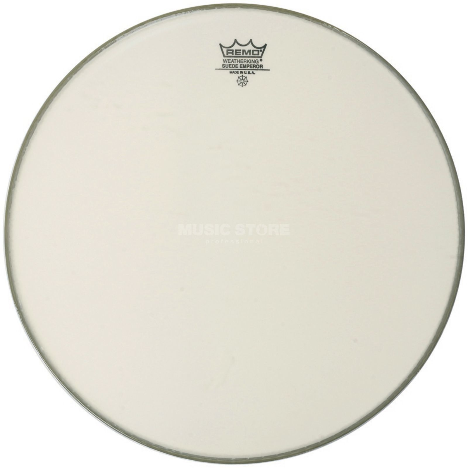 "Remo Emperor Suede 22"", BassDrum Batter/Reso Product Image"
