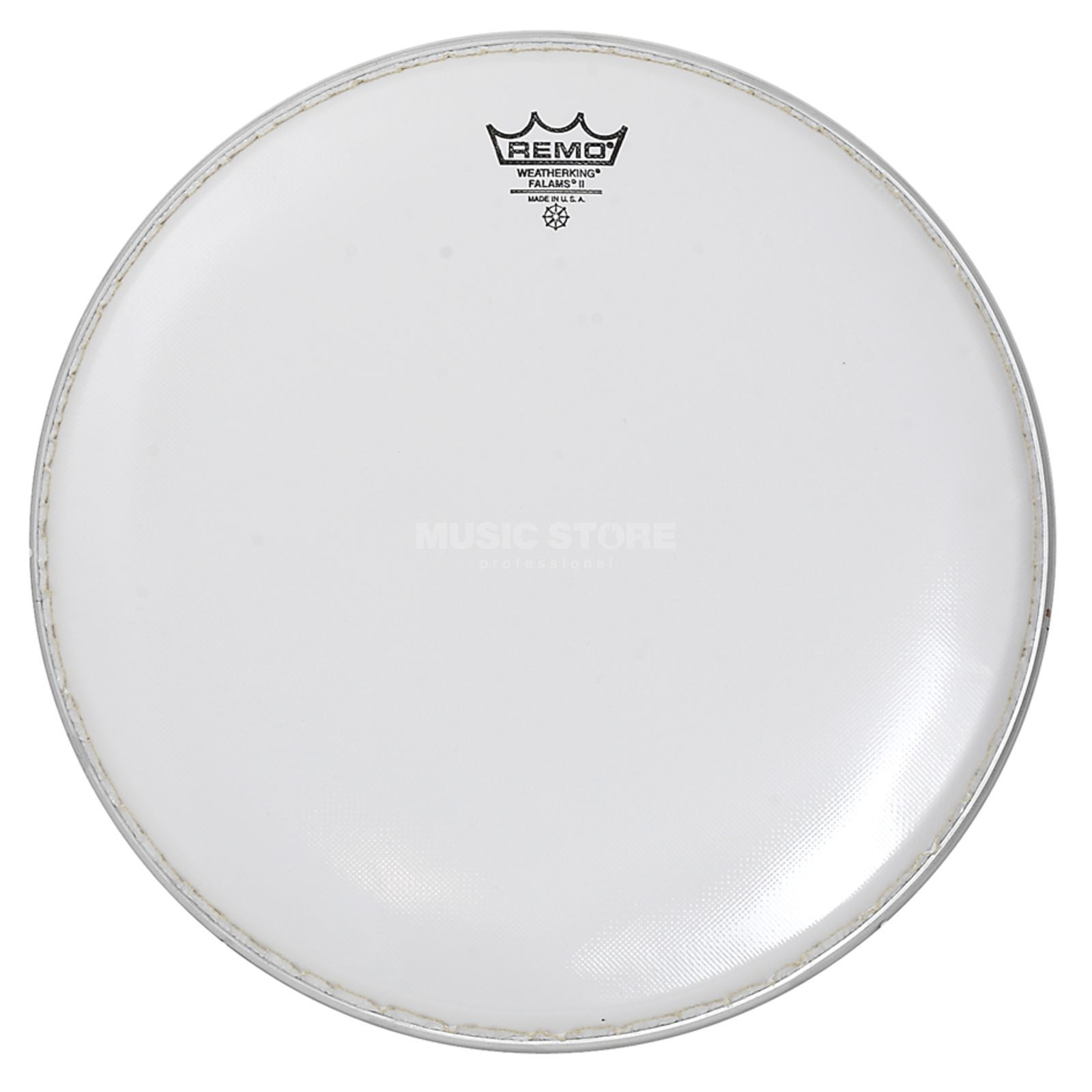 "Remo Falam K, 14"", Smooth White, Marching Produktbillede"