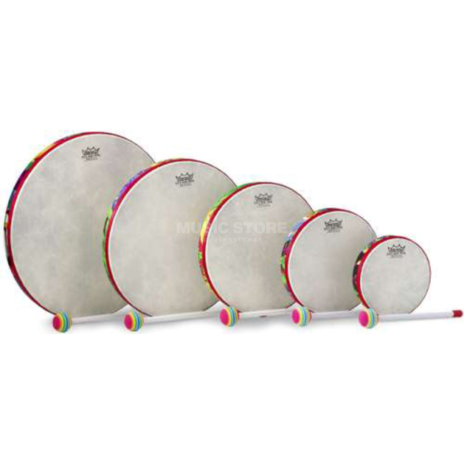 Remo Kids Percussion, 5pc Hand Drum Set Produktbillede