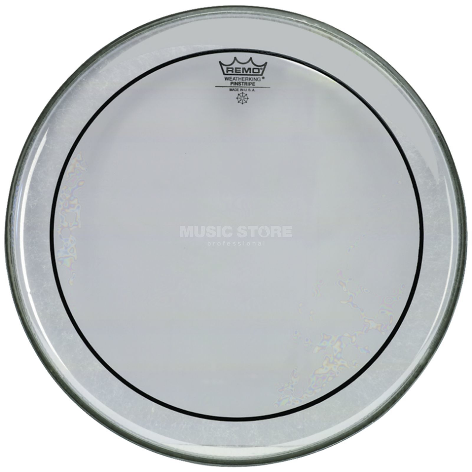 "Remo Pinstripe Clear 24"", BassDrum Batter Product Image"