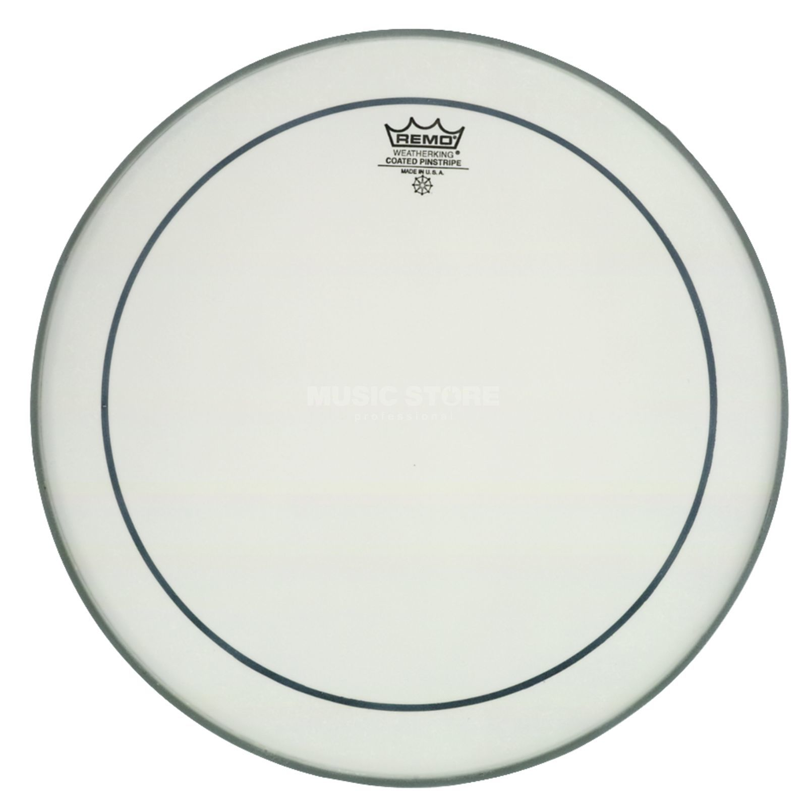 "Remo Pinstripe Coated 16"", Tom Batter Product Image"
