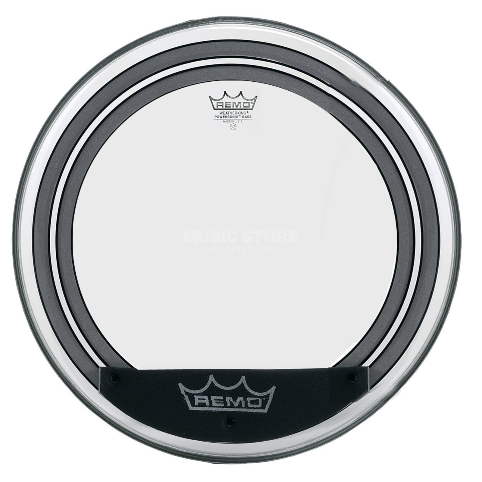 "Remo Powersonic 20"", clear, BassDrum Batter Imagen del producto"