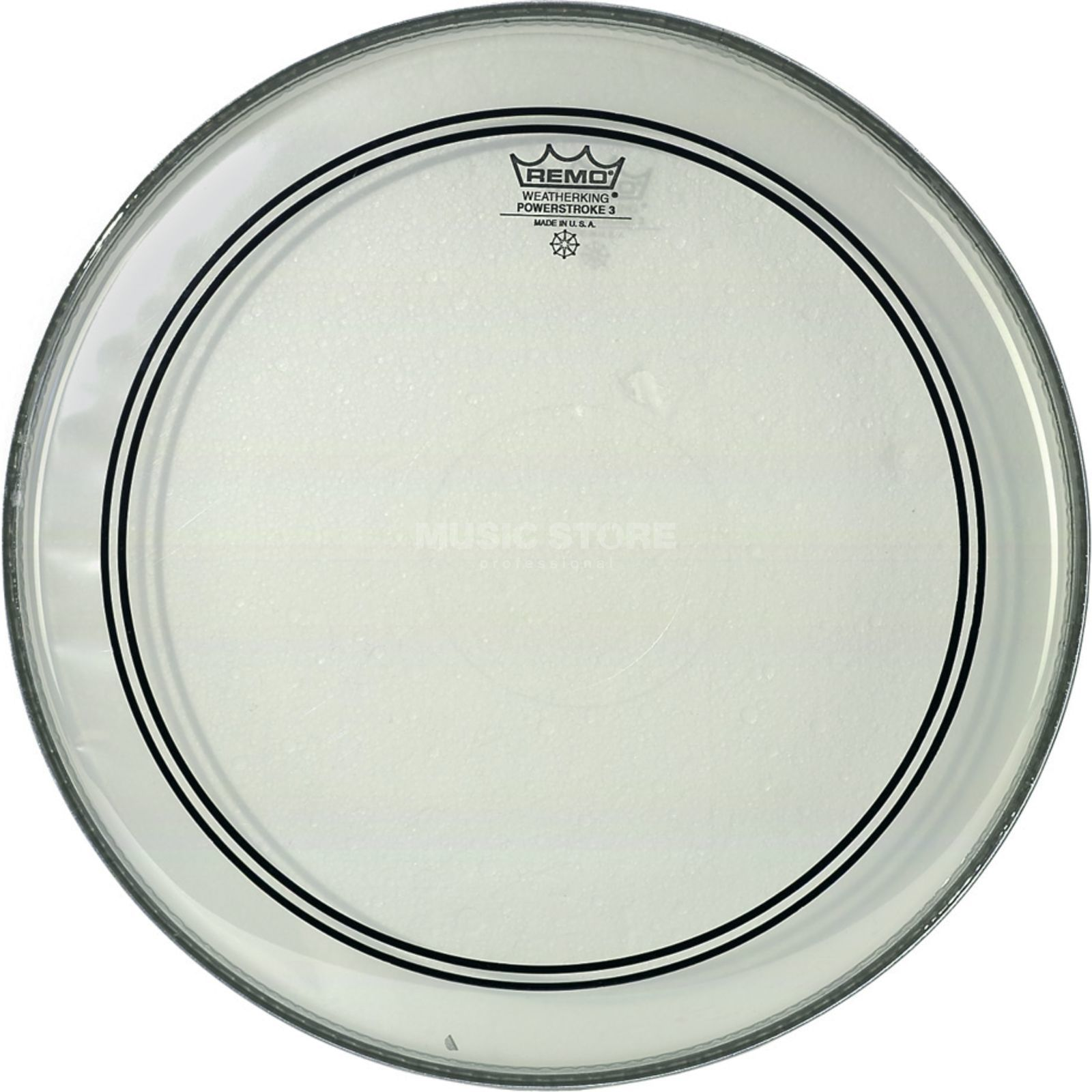 "Remo Powerstroke 3 Clear 12"", Tom Batter/Reso Produktbillede"
