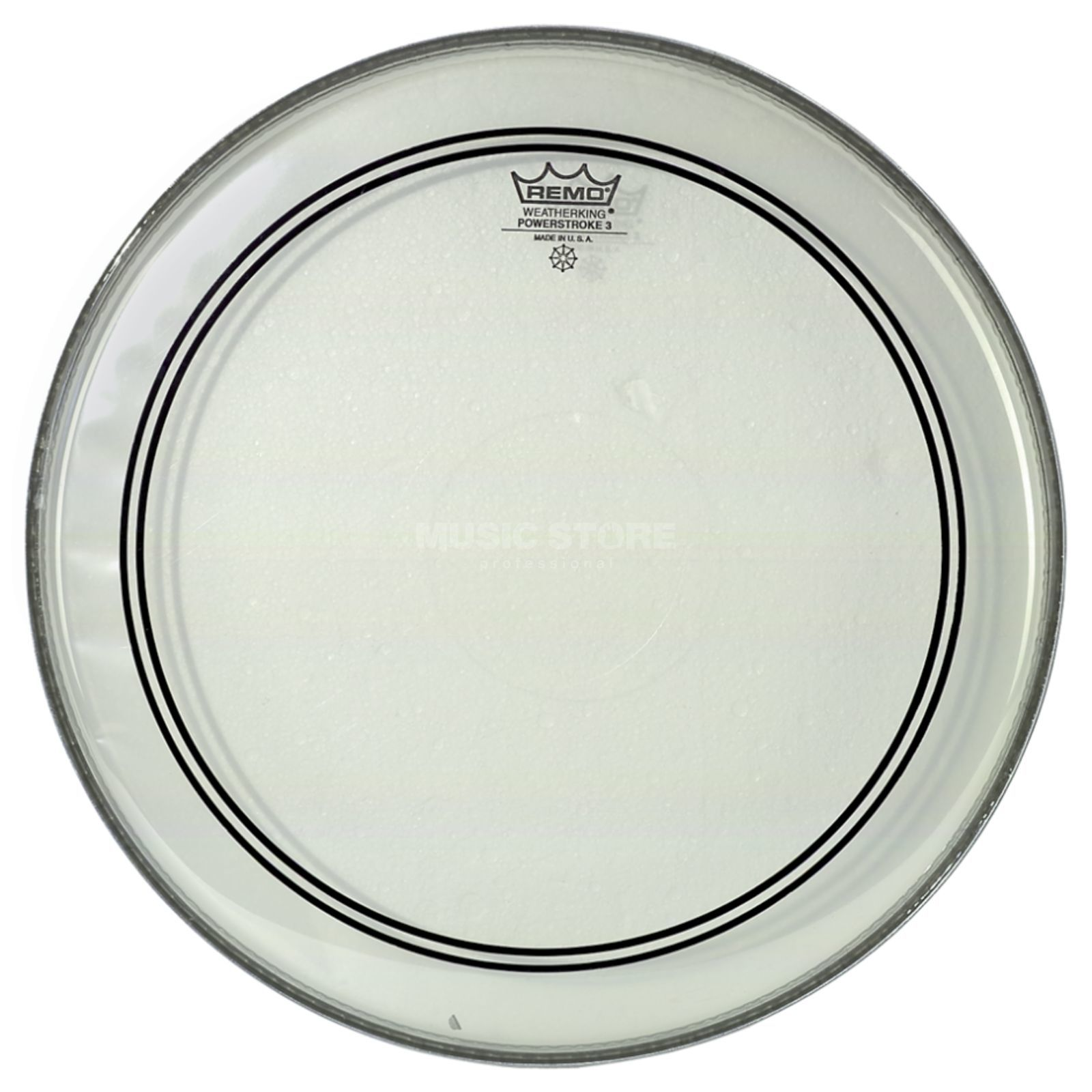 "Remo Powerstroke 3 Clear 14"", Tom Batter/Reso, Snare Batter Product Image"