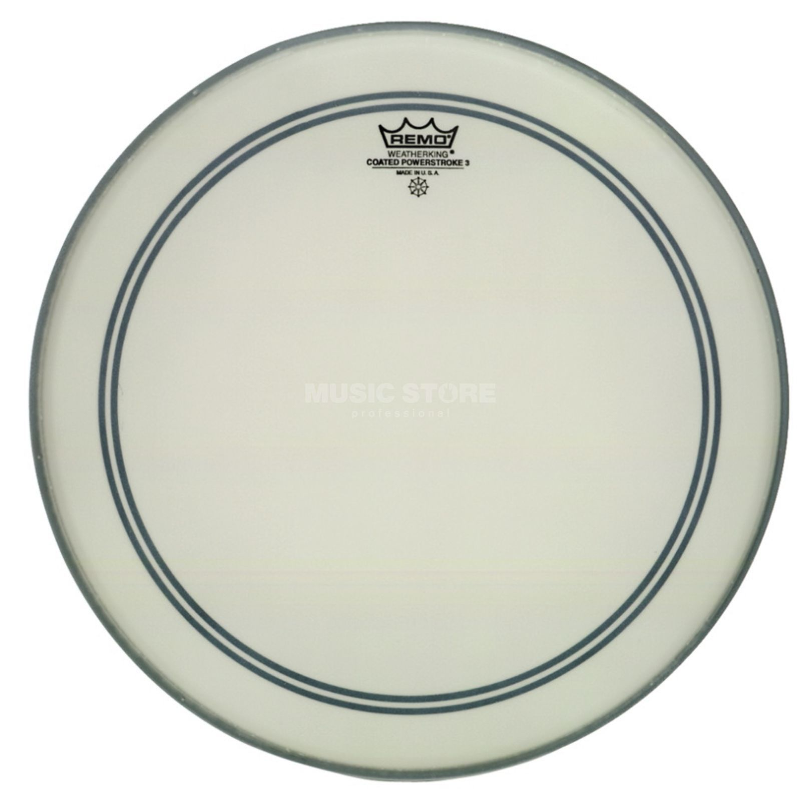 "Remo Powerstroke 3 Coated 8"", Tom Batter/Reso Produktbillede"