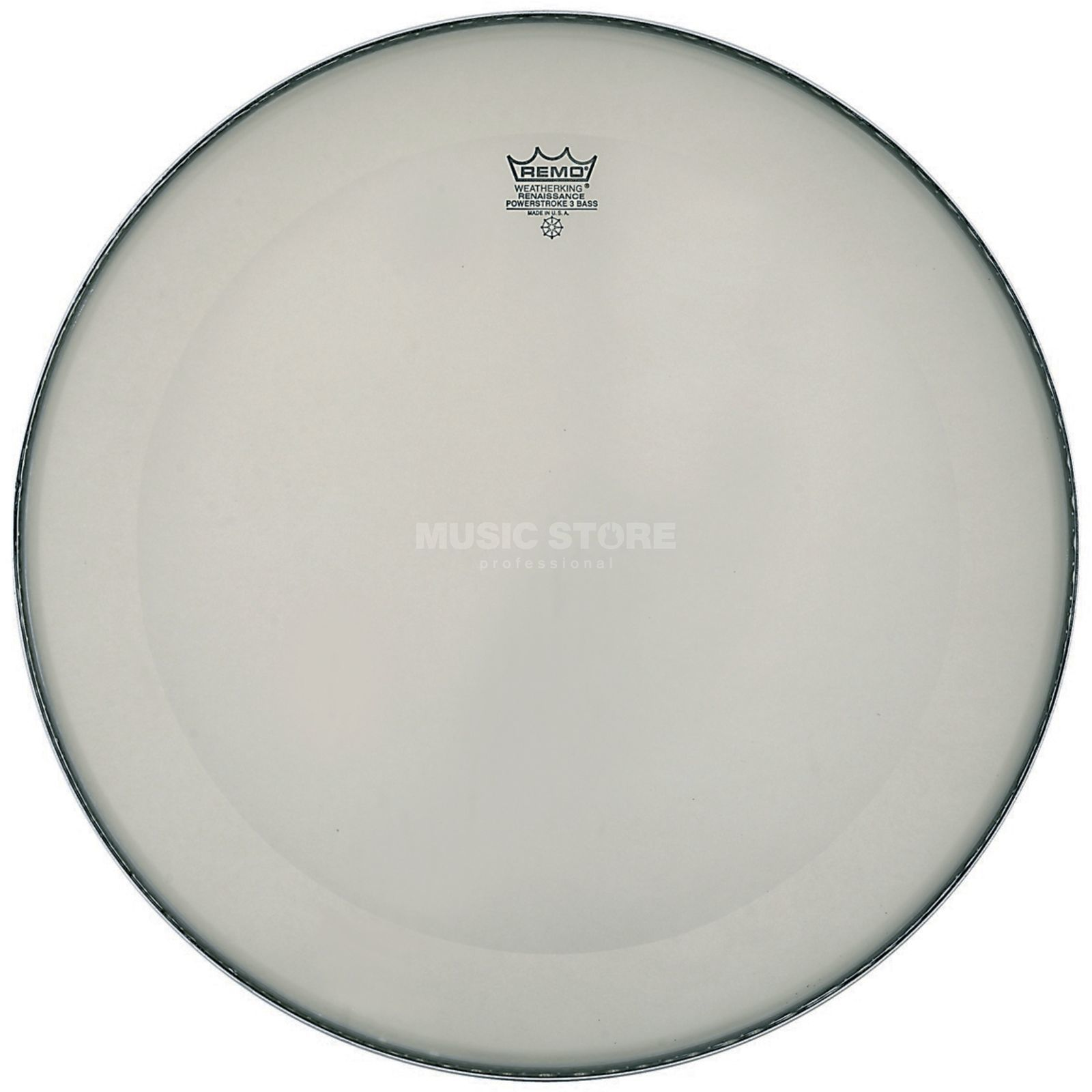 "Remo Powerstroke 3 Renaissance 18"", basDrum Batter/Reso Productafbeelding"