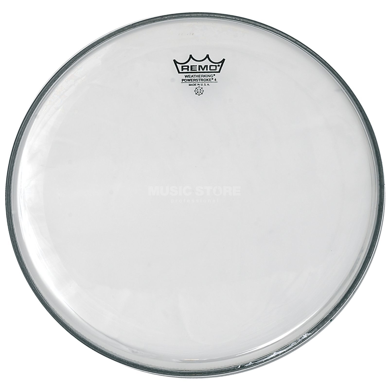 "Remo Powerstroke 4 Clear 15"", Tom Batter Produktbillede"