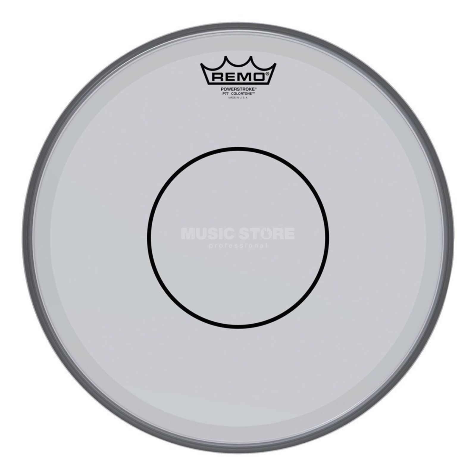 "Remo Powerstroke 77 Colortone 14"" Smoke Product Image"