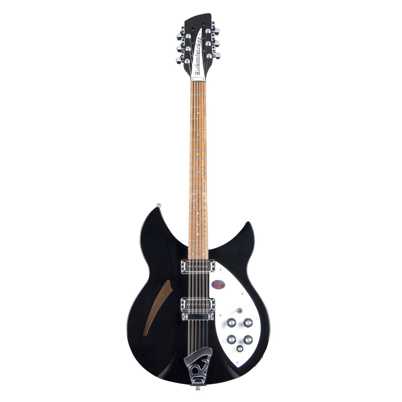 Rickenbacker 330 12 String Electric Guitar,  Jetglo Produktbillede