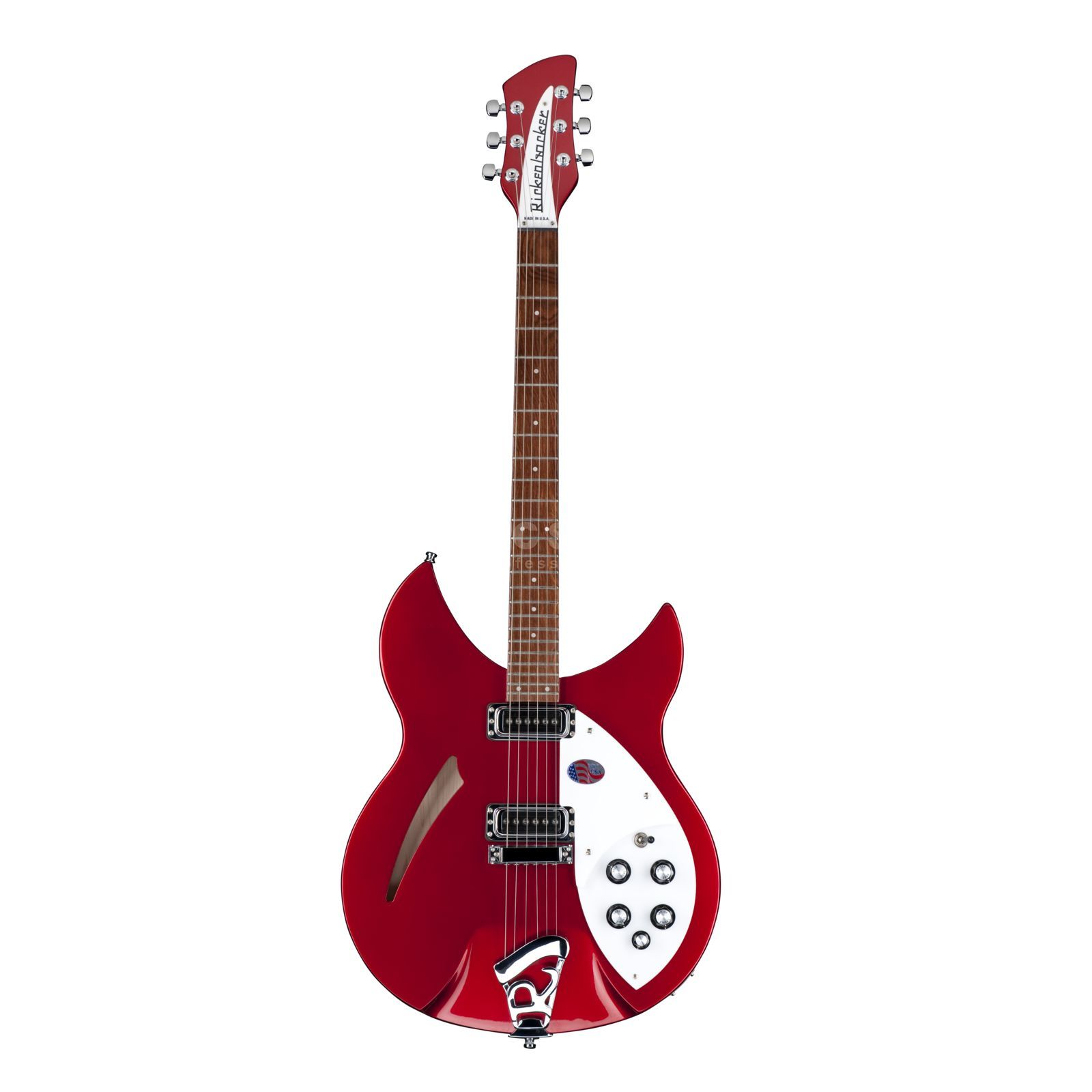 Rickenbacker 330 Thinline Semi Acoustic RB Ruby Produktbillede