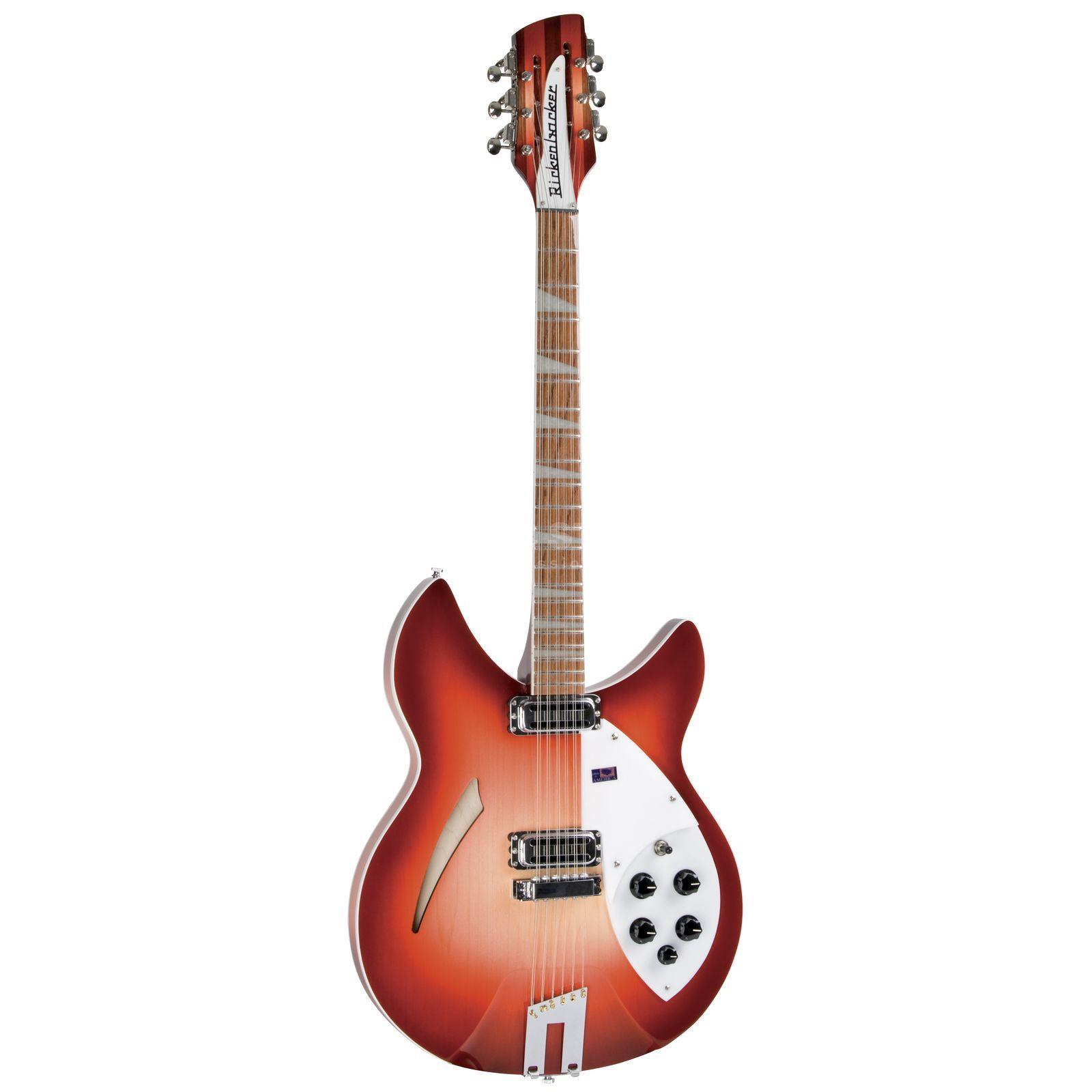 rickenbacker 360 12c63 12 string semi acous tic guitar fireglo. Black Bedroom Furniture Sets. Home Design Ideas